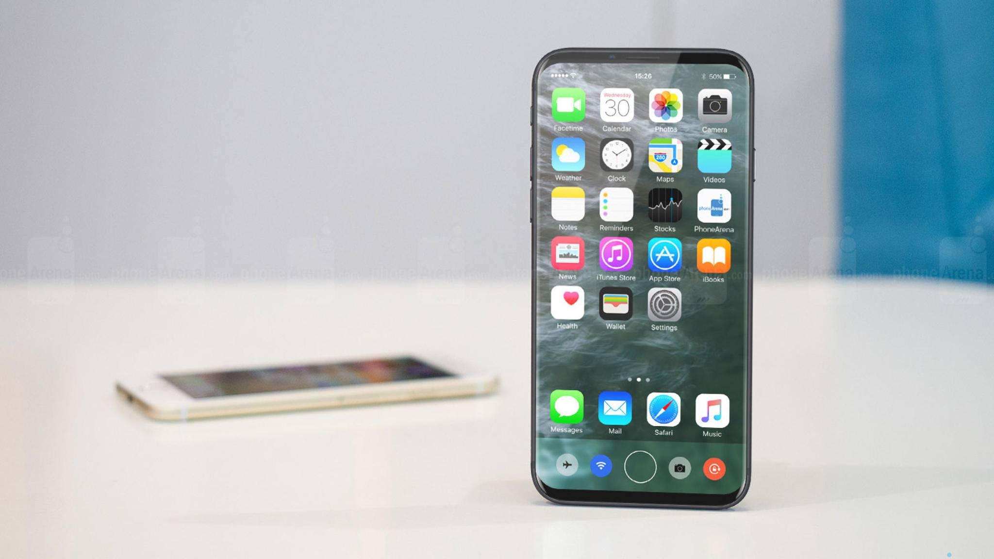Fällt das iPhone 8 trotz größeren Displays so viel kleiner aus als das iPhone 7s Plus?