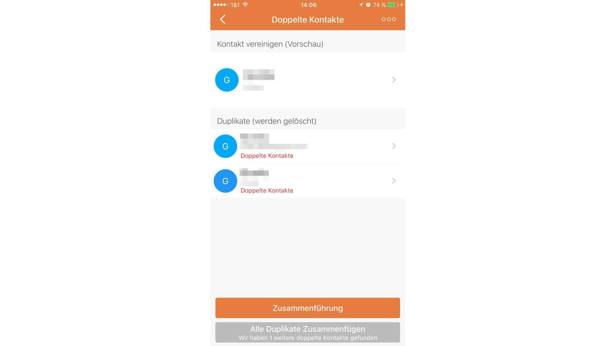 Auf der iCloud-Webseite kannst Du im Kontakte-Bereich Deine Kontakte als VCF-Datei sichern.