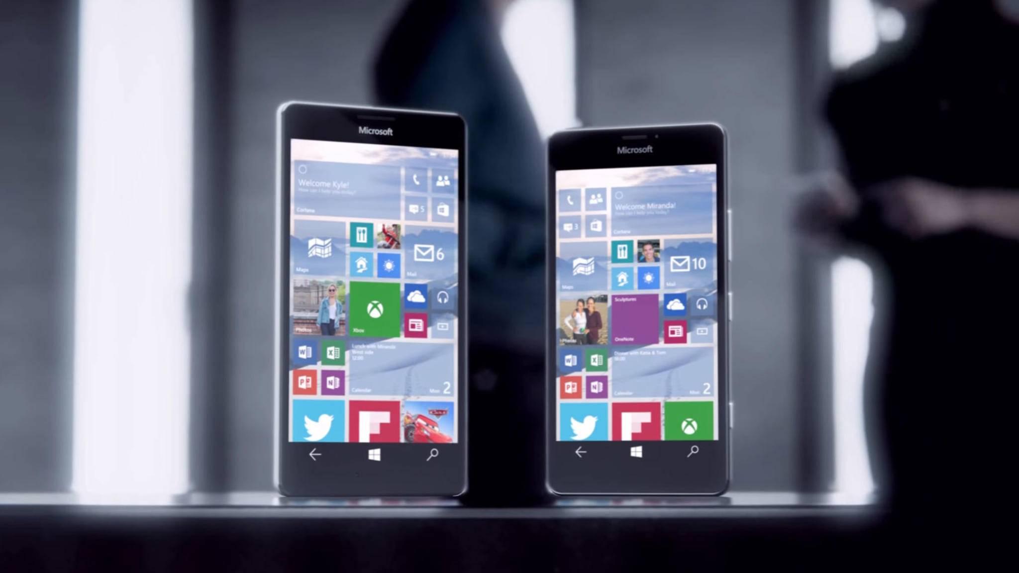 Das Lumia 950 gehört zu den Smartphones, die das Fall Creators Update erhalten.