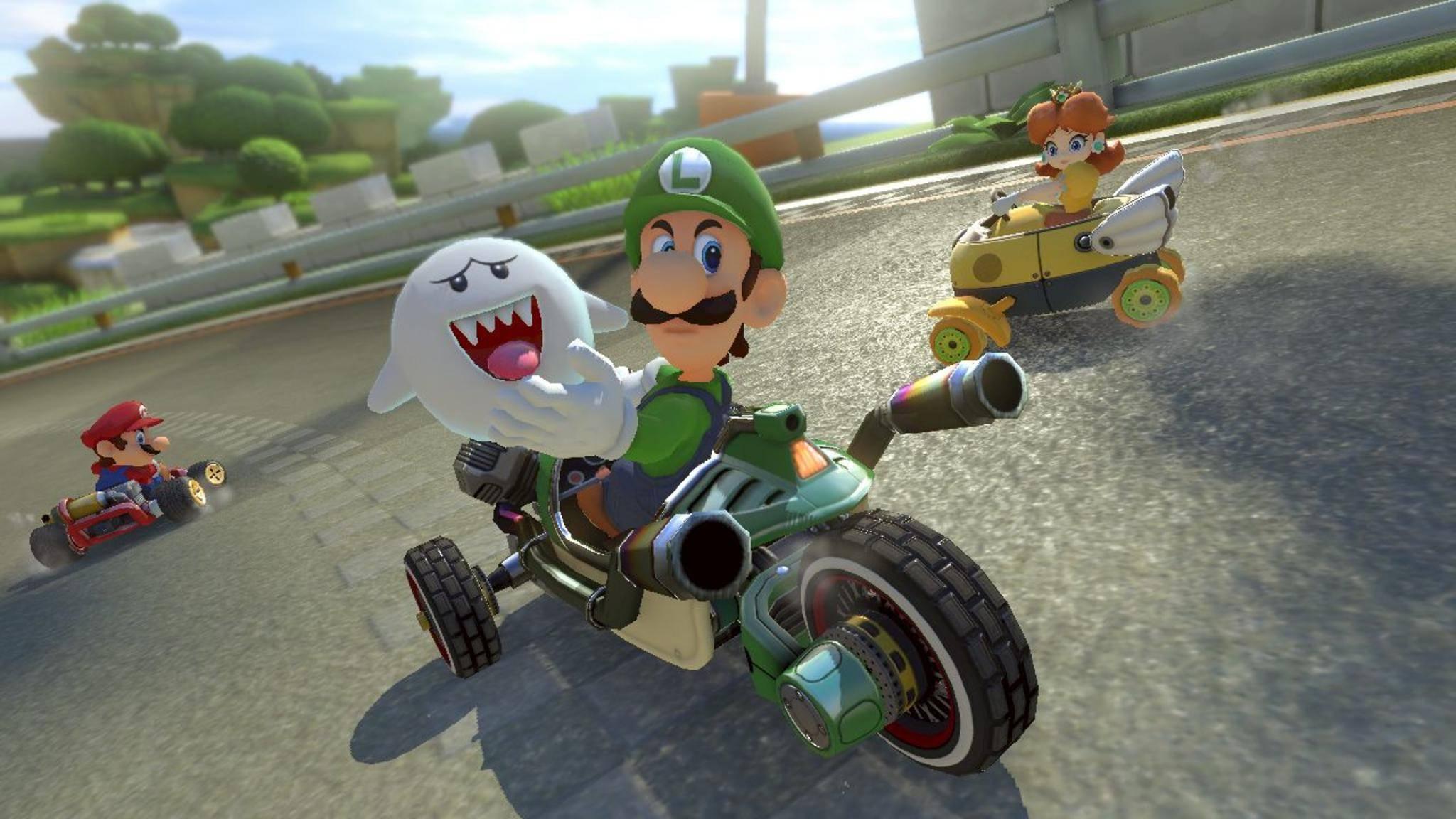"""Fast hätte es kein """"Super Mario Kart"""" gegeben."""