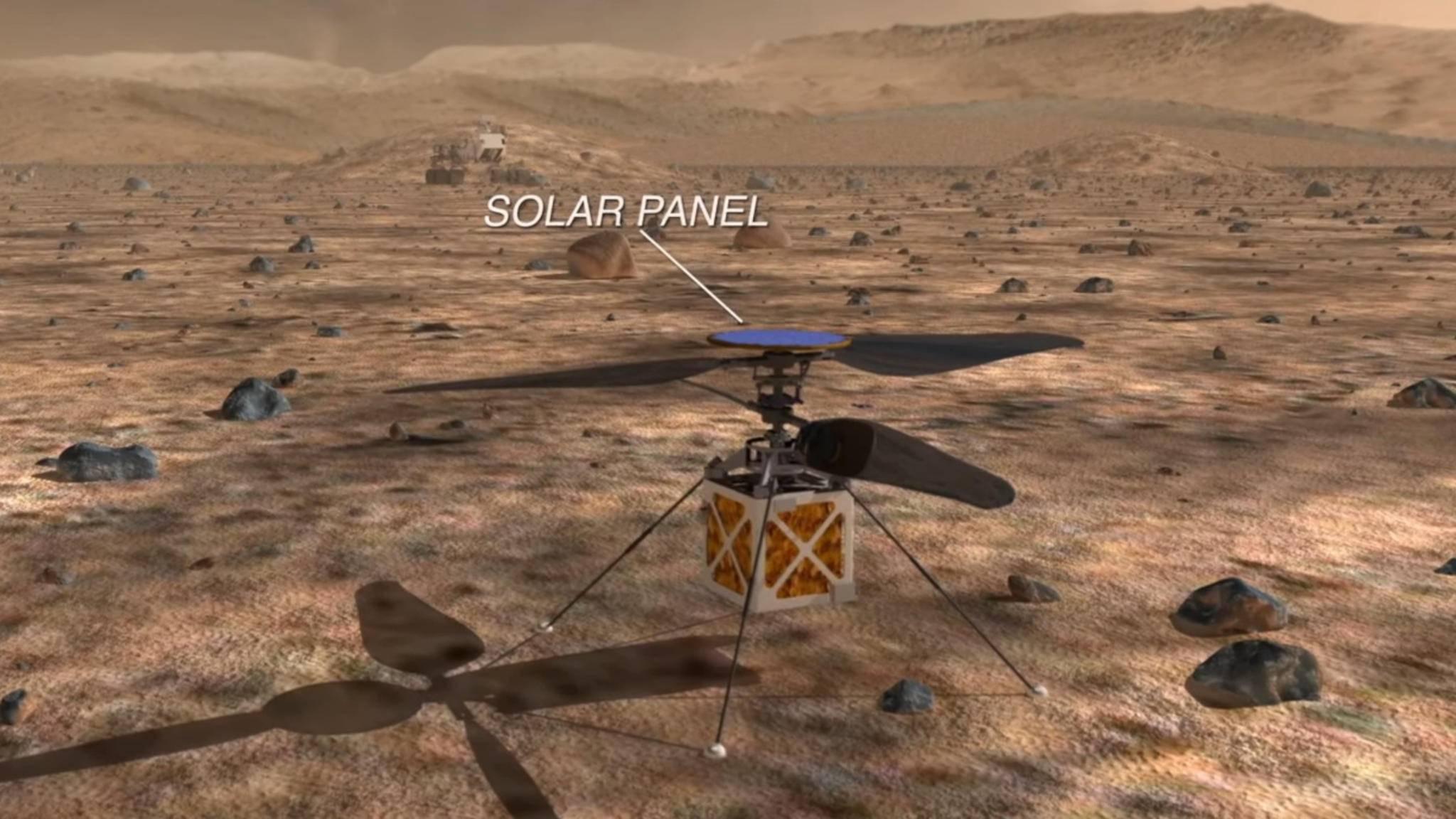 Die NASA schickt 2020 erstmals Drohnen ins Weltall.