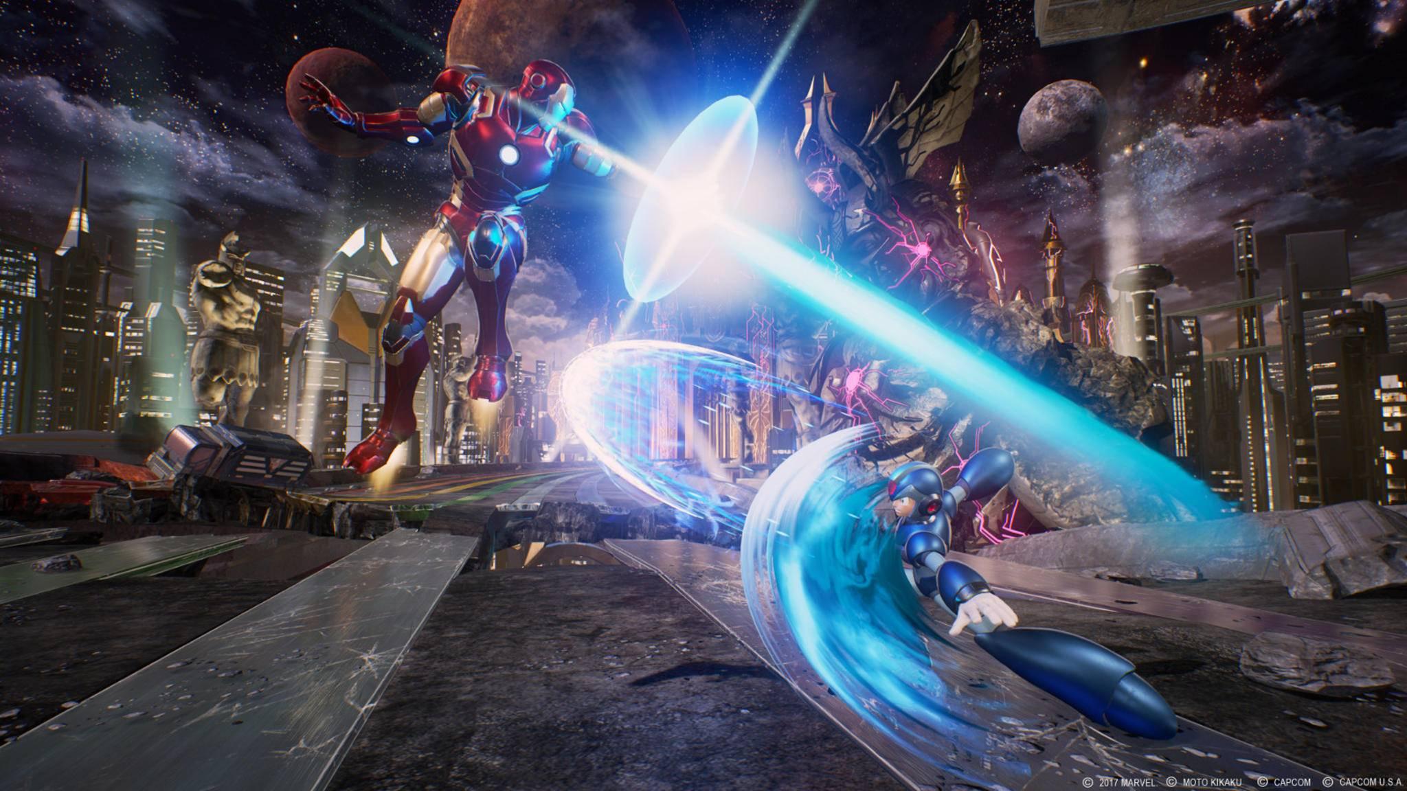 """Dass Iron Man und X zum Cast von """"Marvel vs. Capcom: Infinite"""" gehören werden, ist schon länger bekannt. Nun haben die beiden Gesellschaft bekommen."""