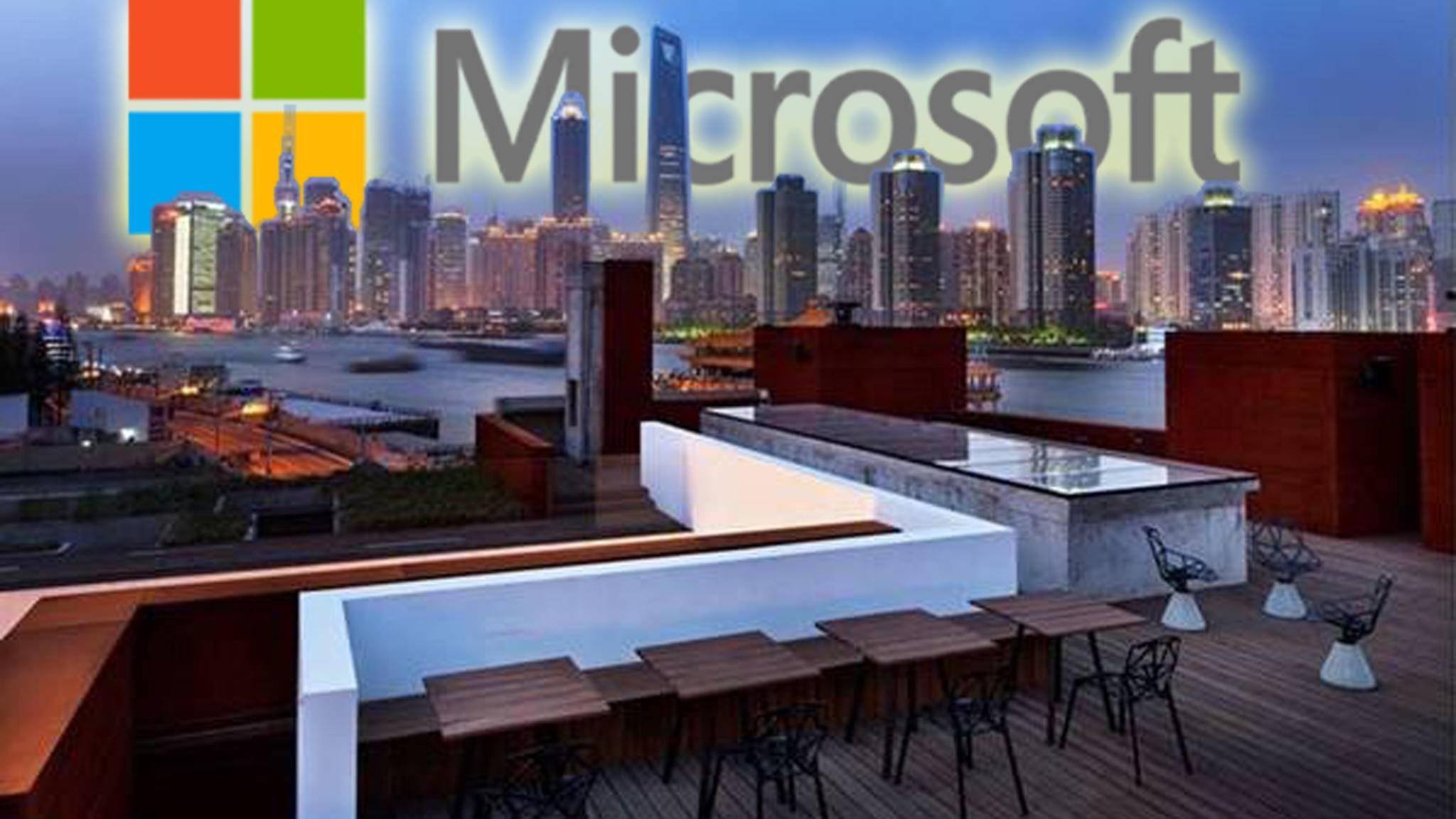 Microsoft Event in Shanghai