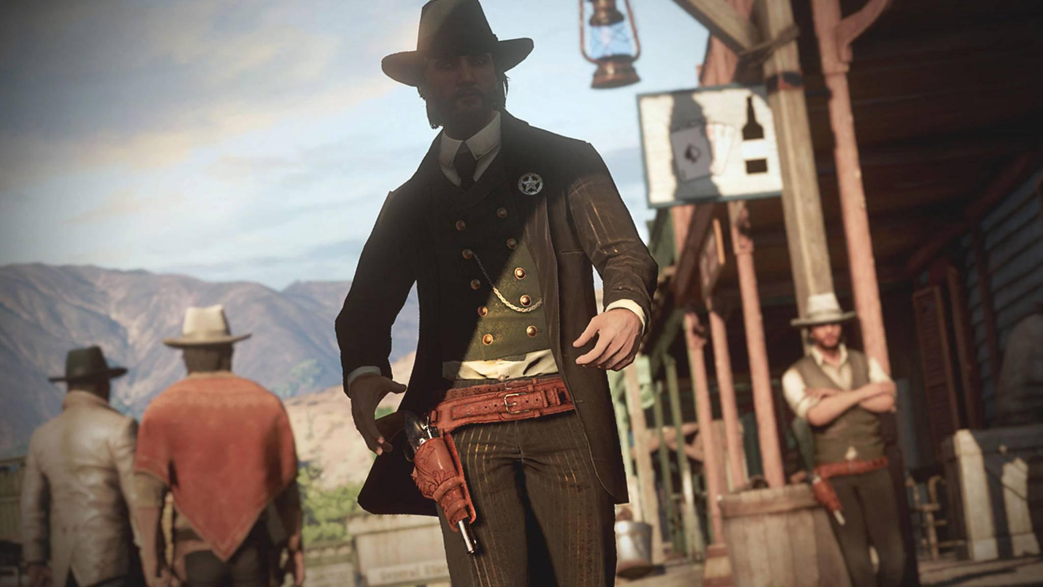 """Guter Cowboy, böser Cowboy? In """"Wild West Online"""" darf man sich für eine Seite entscheiden."""