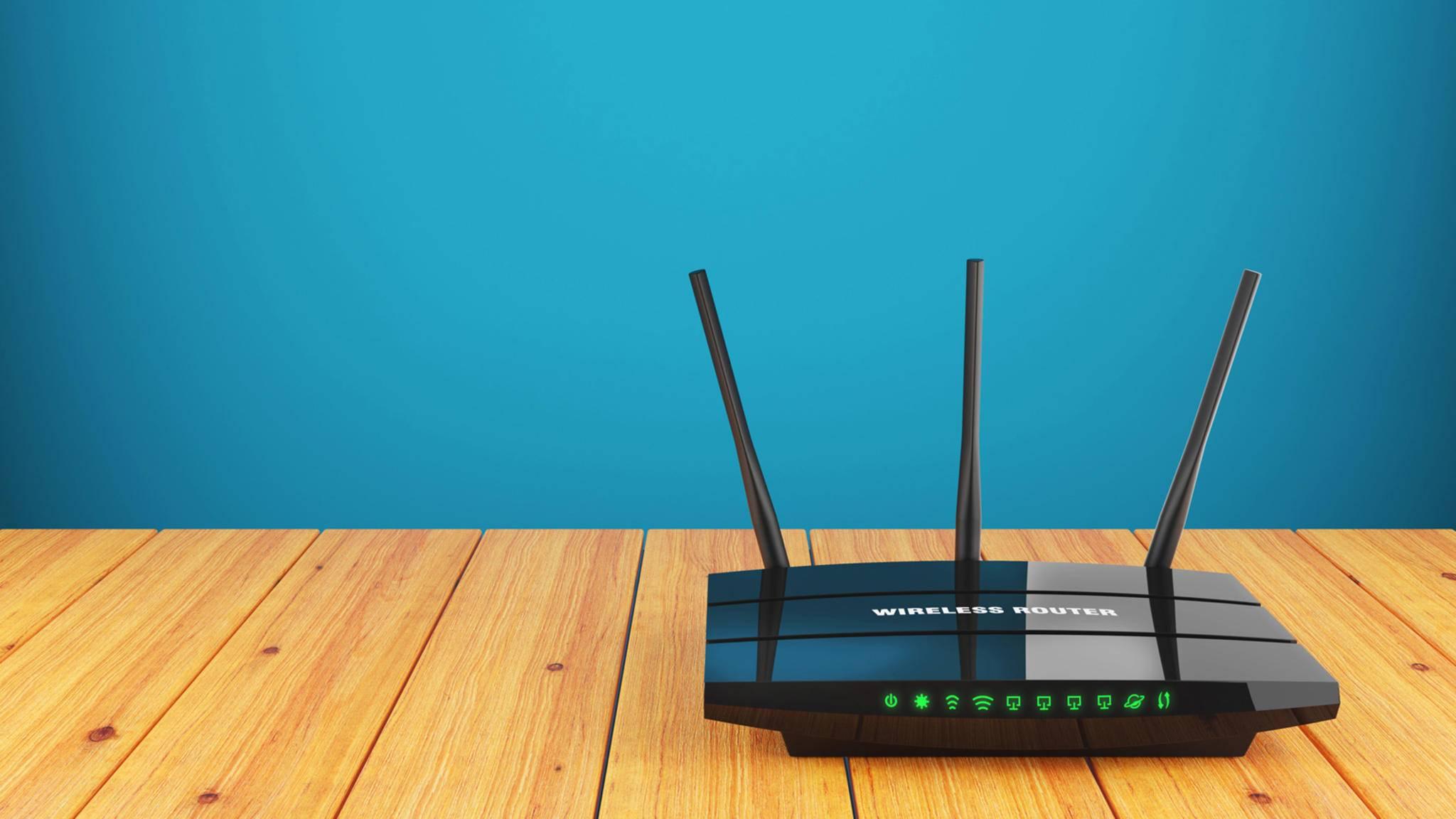 Es kann sich lohnen, den Router an einen anderen Ort zu stellen.