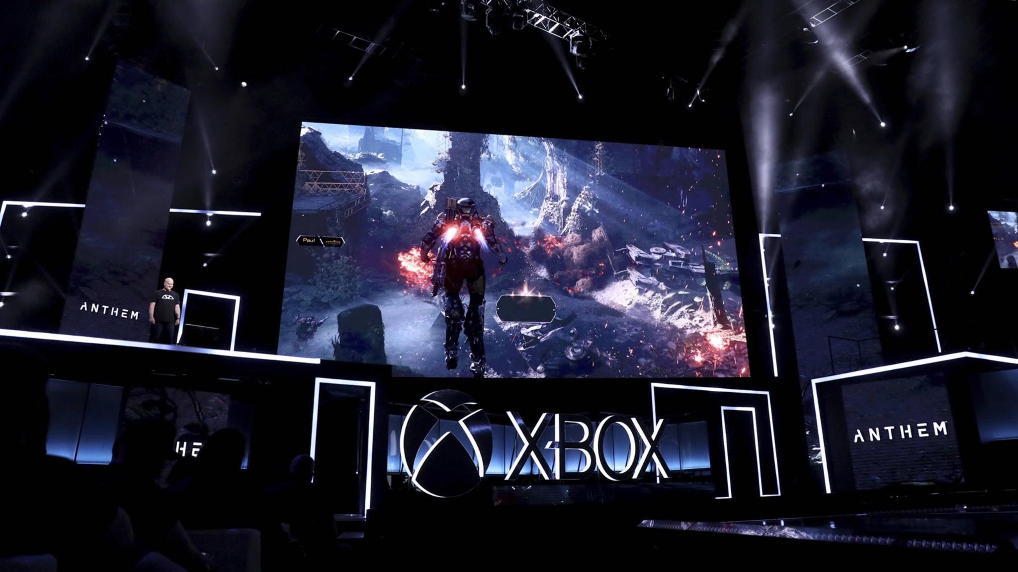 Xbox Pressekonferenz E3 2017.