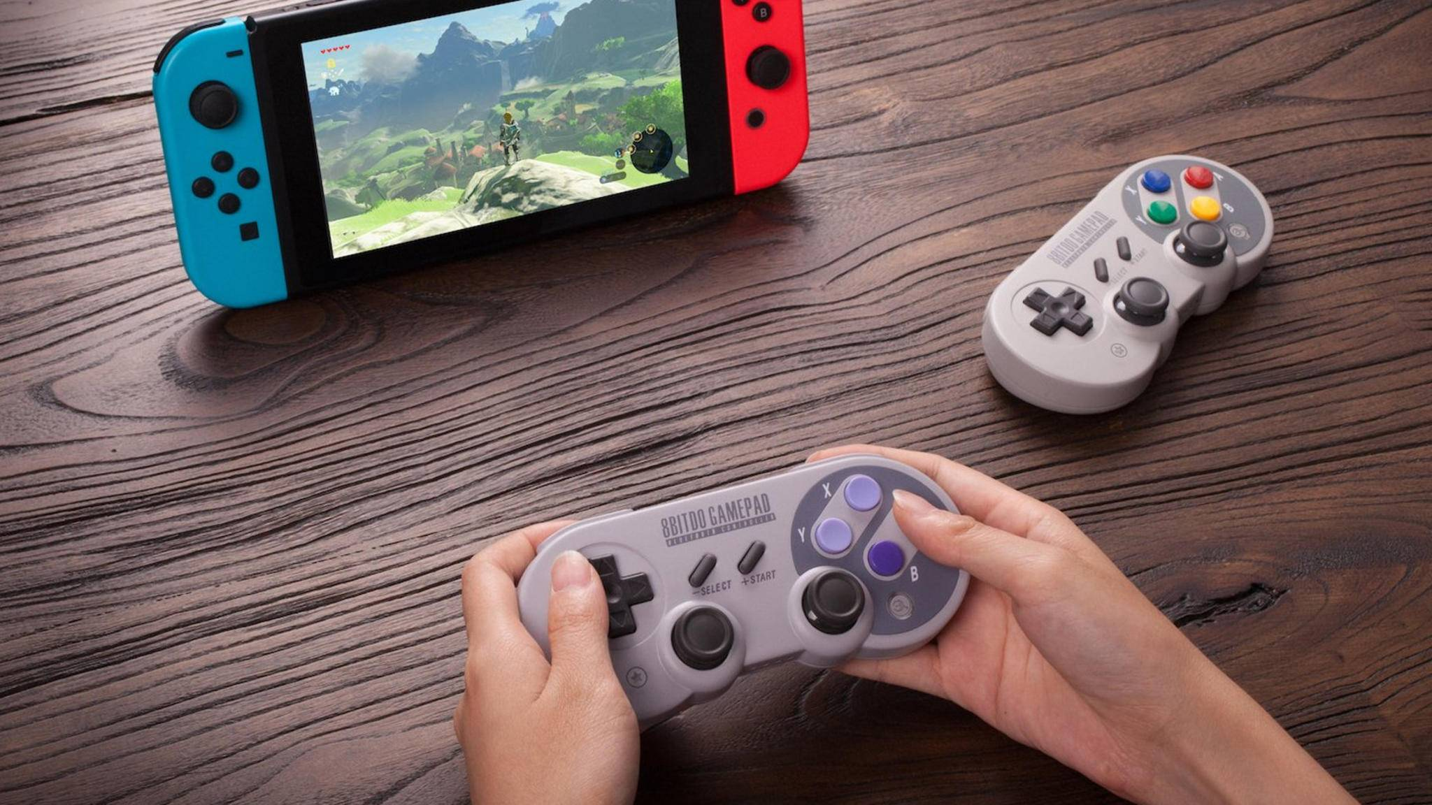 Neue SNES-Retro-Controller für die Nintendo Switch vorgestellt.