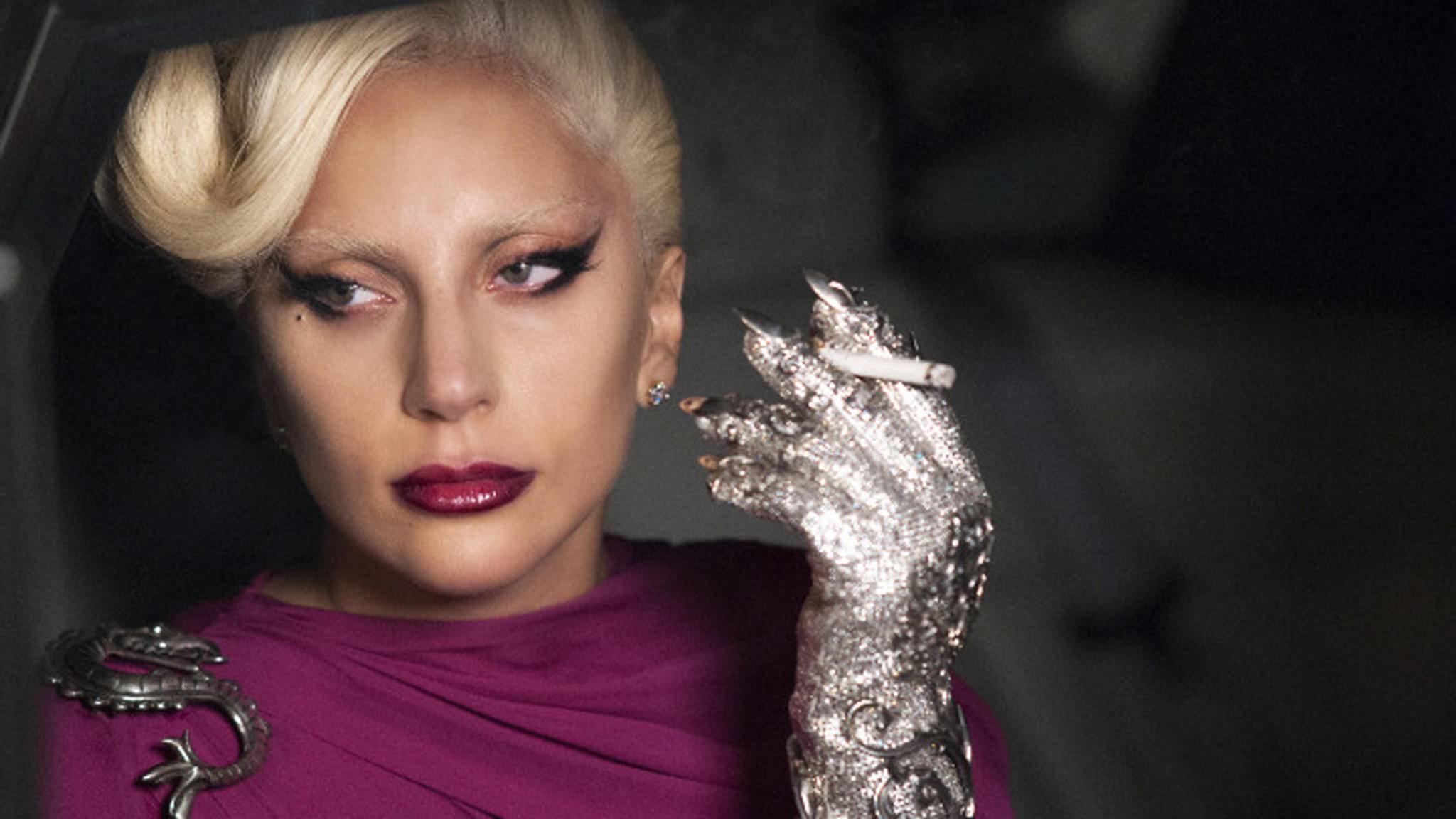 "In der fünften ""American Horror Story""-Staffel war Lady Gaga als divenhafte Hotel-Lady zu sehen."