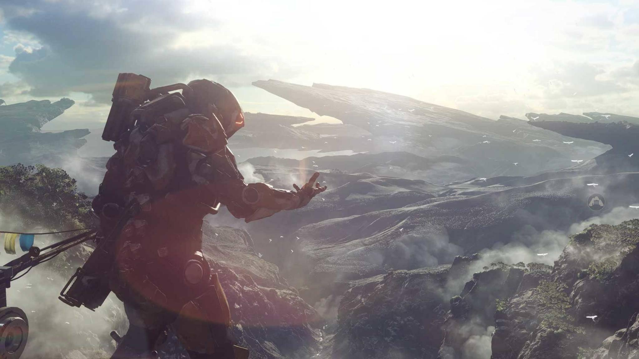 """In """"Anthem"""" trägst Du einen Iron-Man-ähnlichen Anzug."""