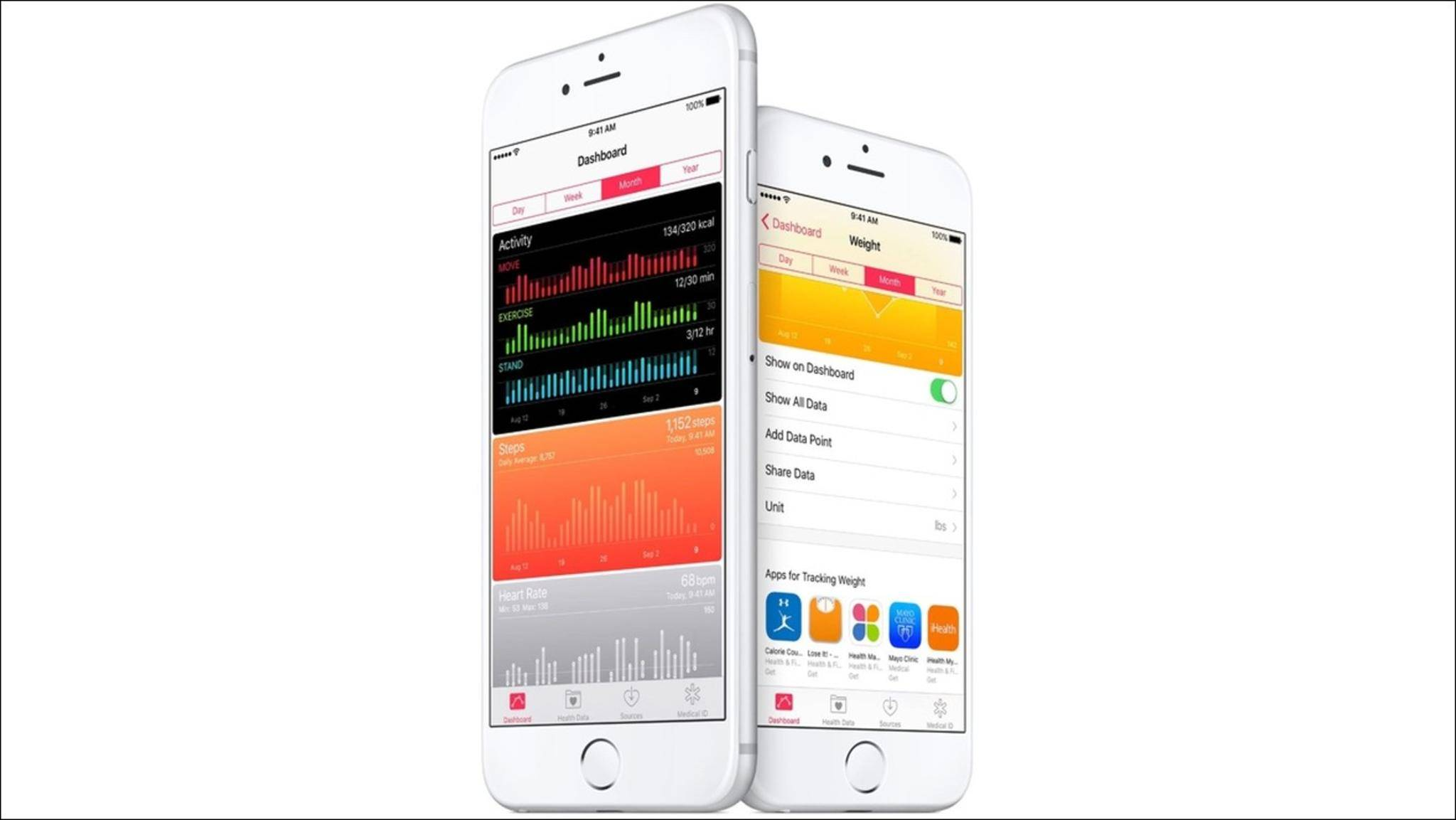 Das iPhone soll in der Zukunft als medizinischer Datenspeicher dienen.