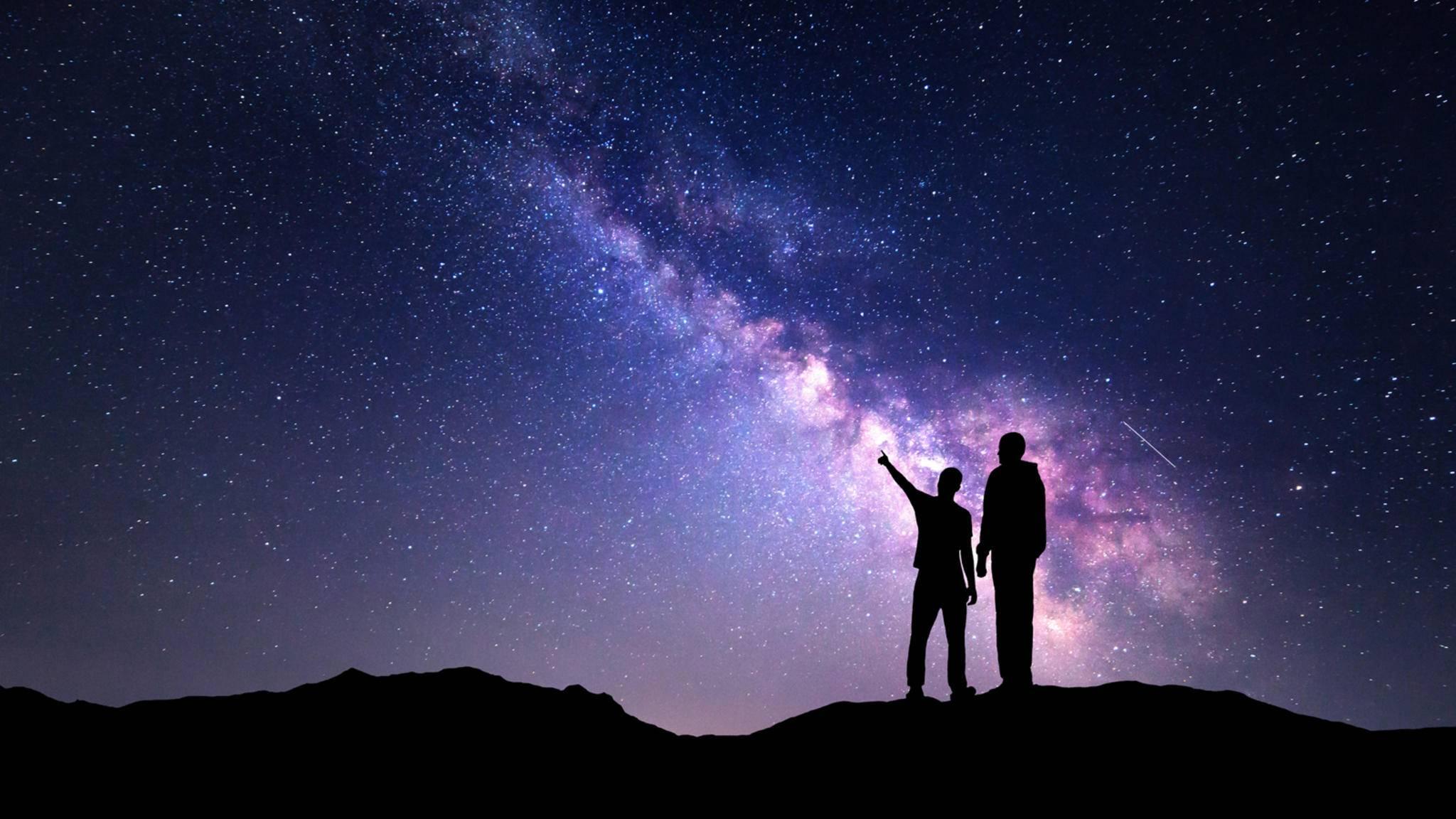 Mit der richtigen Astro-App werden Smartphone und Tablet zum Taschenplanetarium.