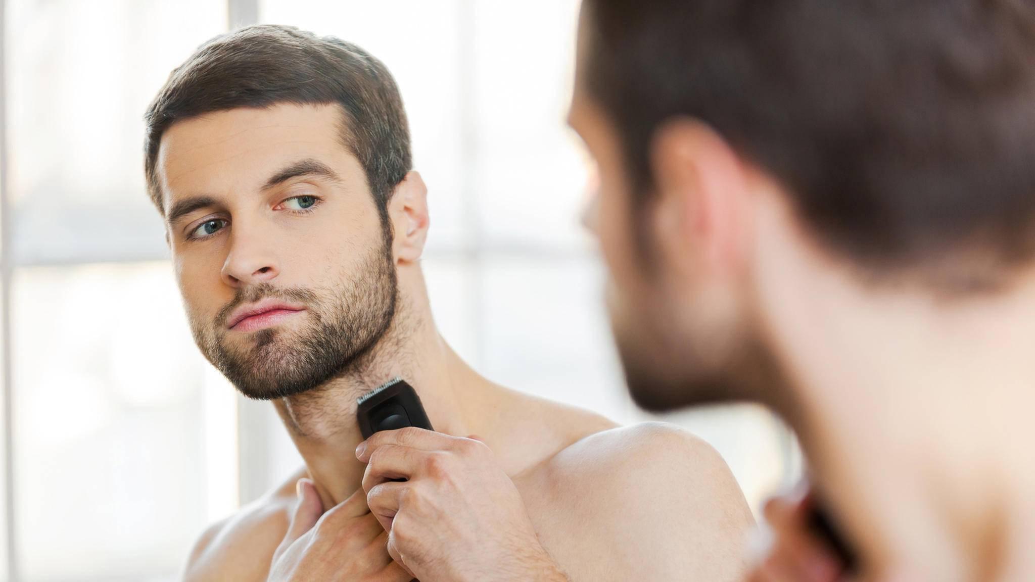 Für eine gepflegte Erscheinung sollten Bartträger ihren Bart regelmäßig trimmen.
