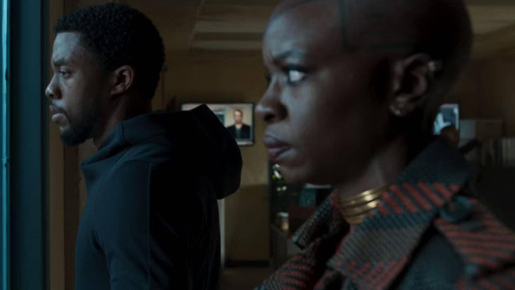 """Als Okoye steht Danai Gurira (rechts) ihrem König bereits in """"Black Panther"""" zur Seite."""