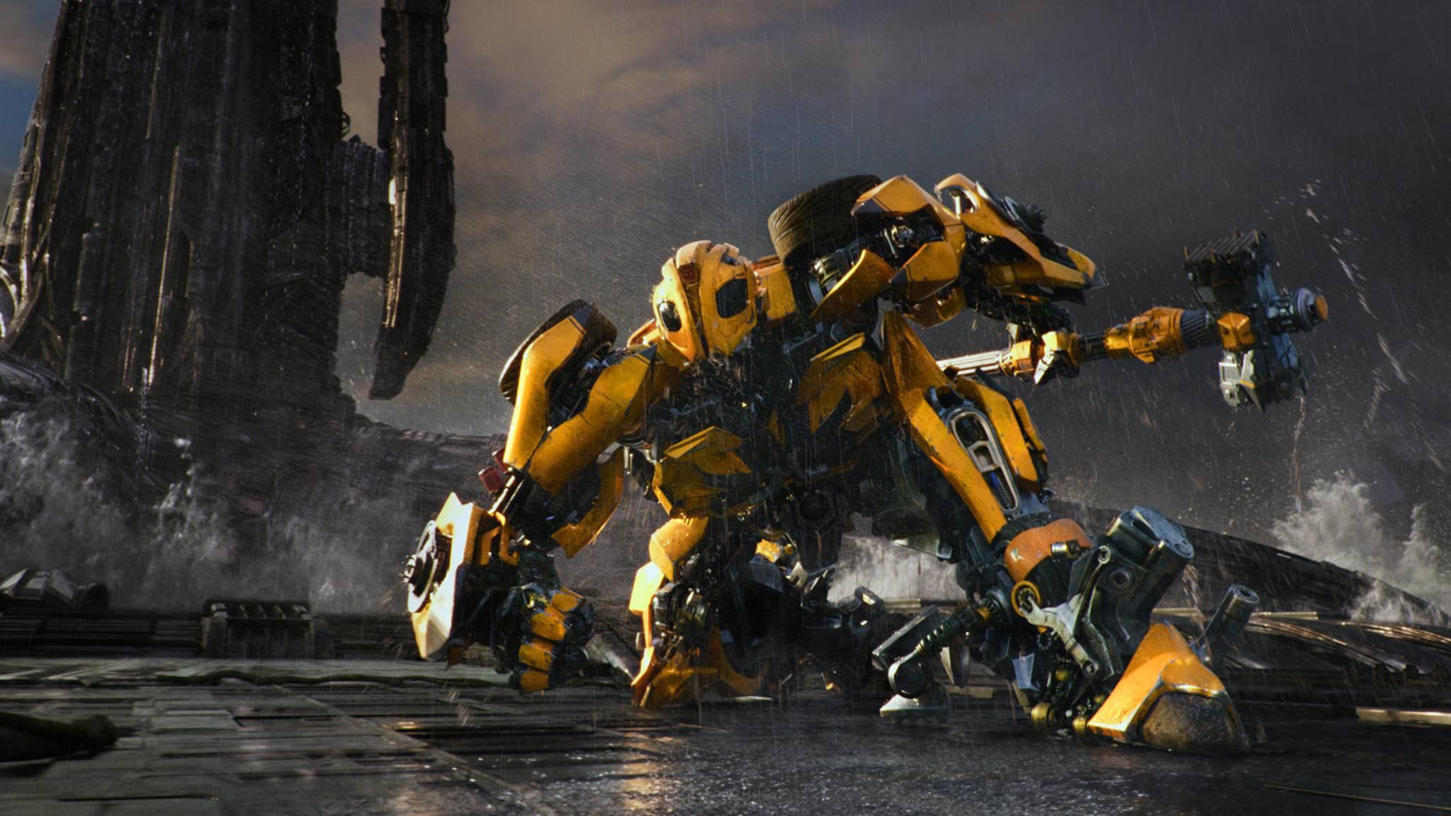 """Ab August erforscht das Spin-off """"Bumblebee"""" die Vorgeschichte des sympathischen Autobots."""