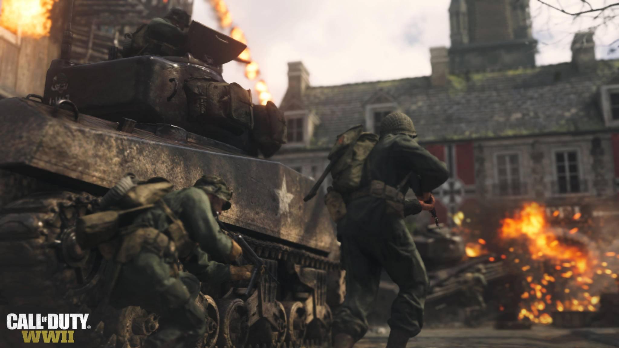 """""""Call of Duty: WW2"""": Der Release rückt näher."""