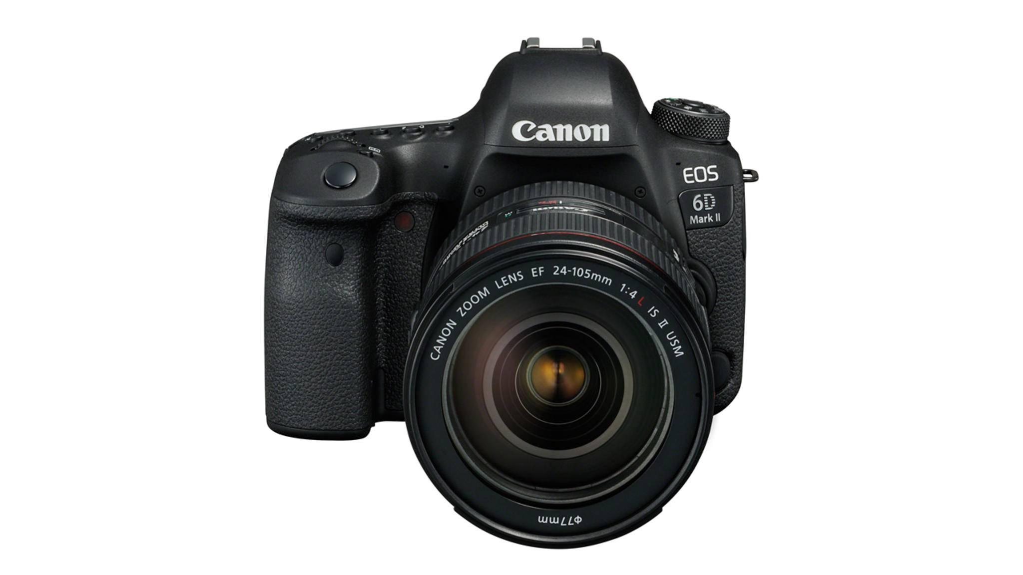 Die Canon EOS 6D Mark II wurde Ende Juni vorgestellt.
