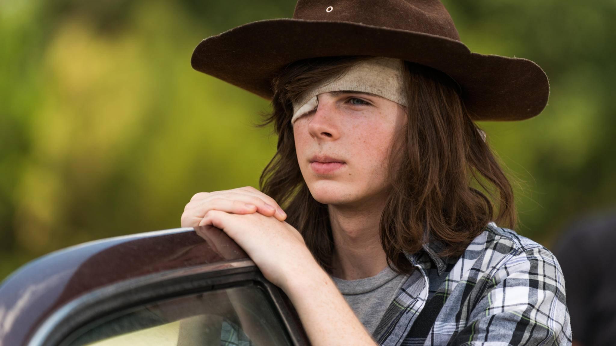 """Carls tatsächliches Alter ist eines der heiß diskutiertesten Themen im Vorfeld von Staffel 8 von """"The Walking Dead"""","""