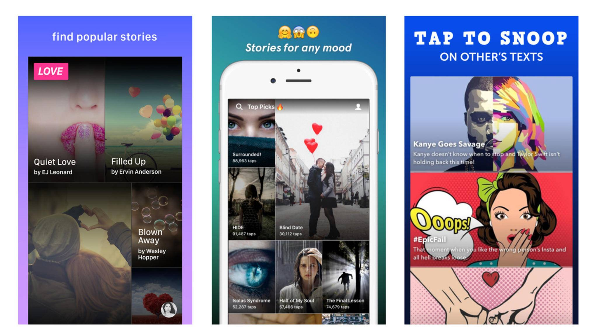Bücher lesen im Textnachrichtformat: Das bieten Chat-Fiction-Apps.