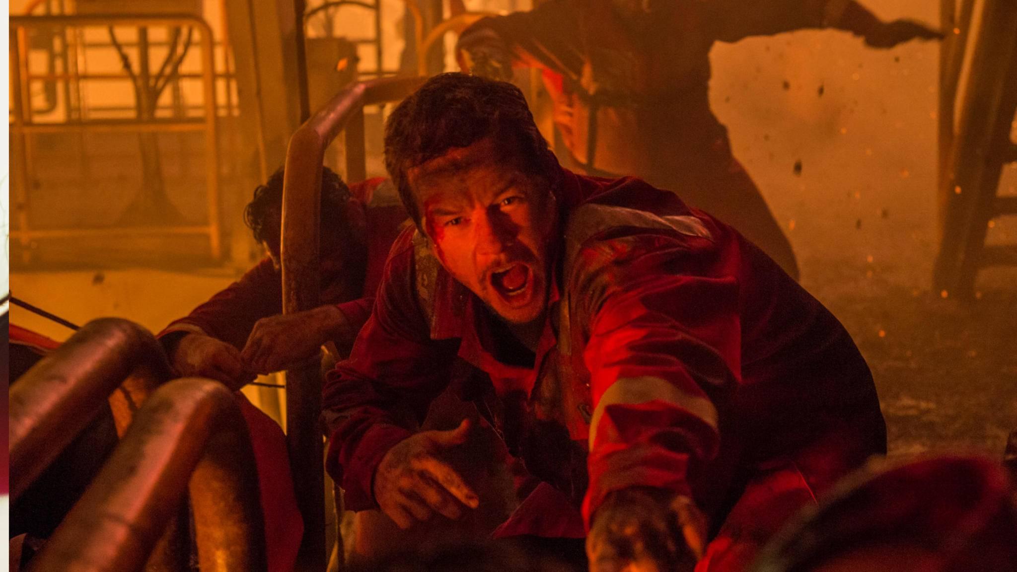 """Mark Wahlberg spielte in """"Deepwater Horizon"""" in einem wirklich sehenswerten Katastrophenfilm mit."""