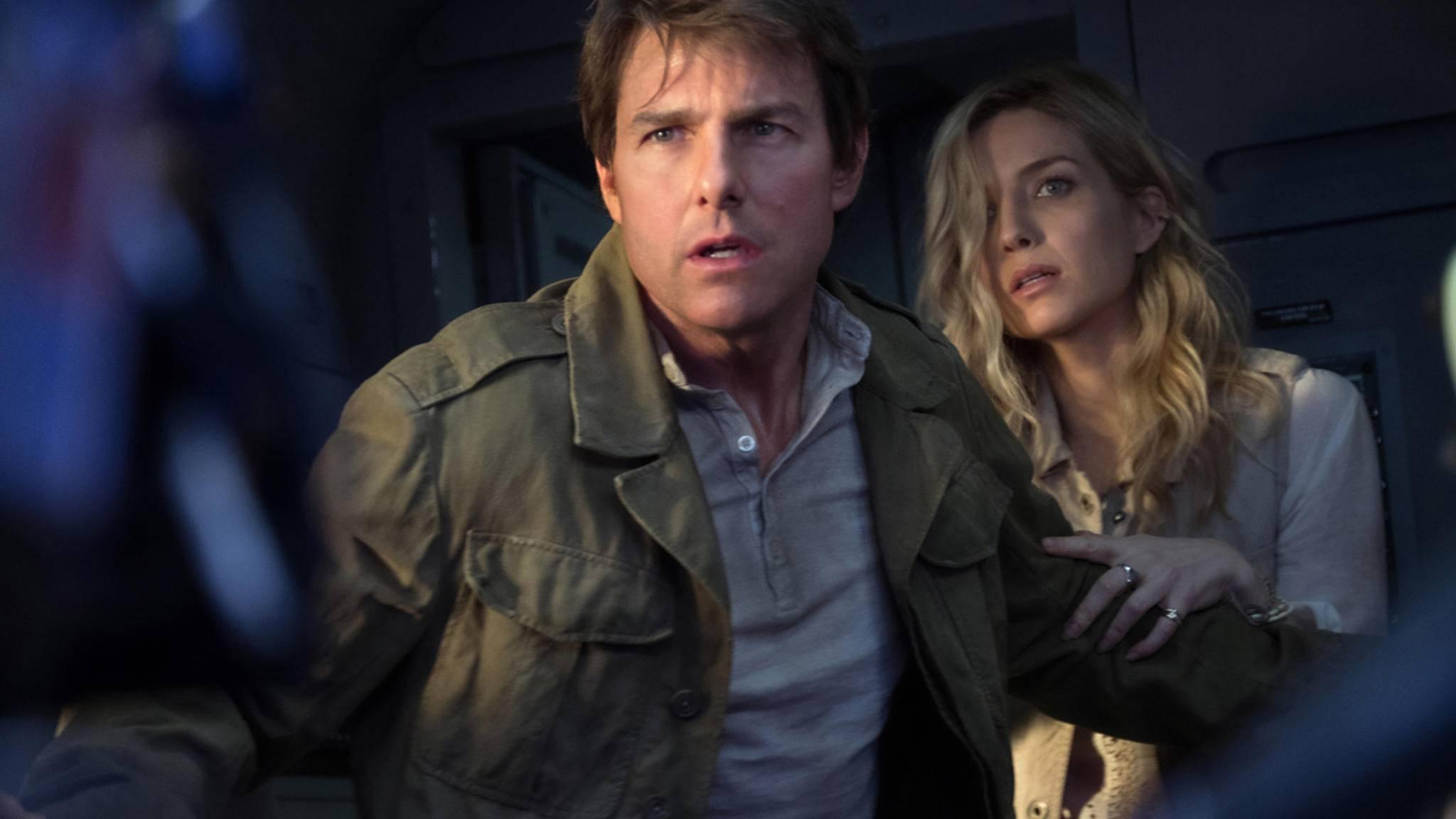 """Kein Iron Man, aber nah dran: Tom Cruise gibt in seinen Filmen (hier: """"Die Mumie"""") gerne den harten Kerl."""