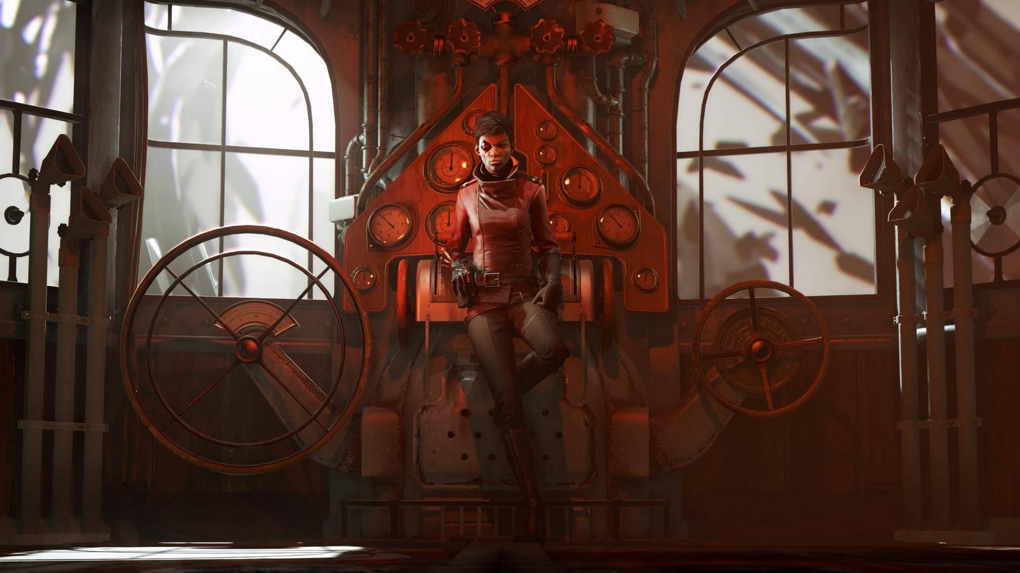 """Die neue """"Dishonored""""-Hauptfigur Billie Lurk hat ein Faible für Kunst – vor allem, wenn sie sich gut verkaufen lässt."""