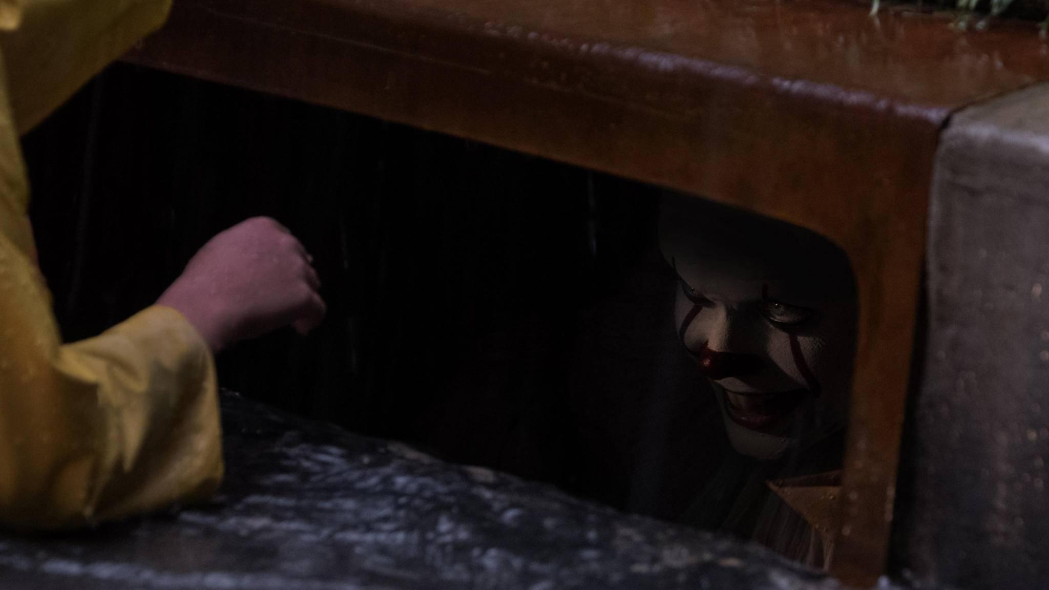 Nicht nur im Film versetzte Pennywise die Kinder in Angst und Schrecken.