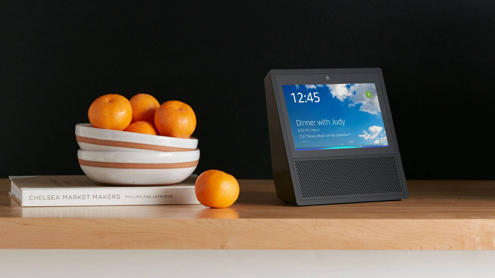 Der Amazon Echo Show hat ein 7-Zoll-Display.