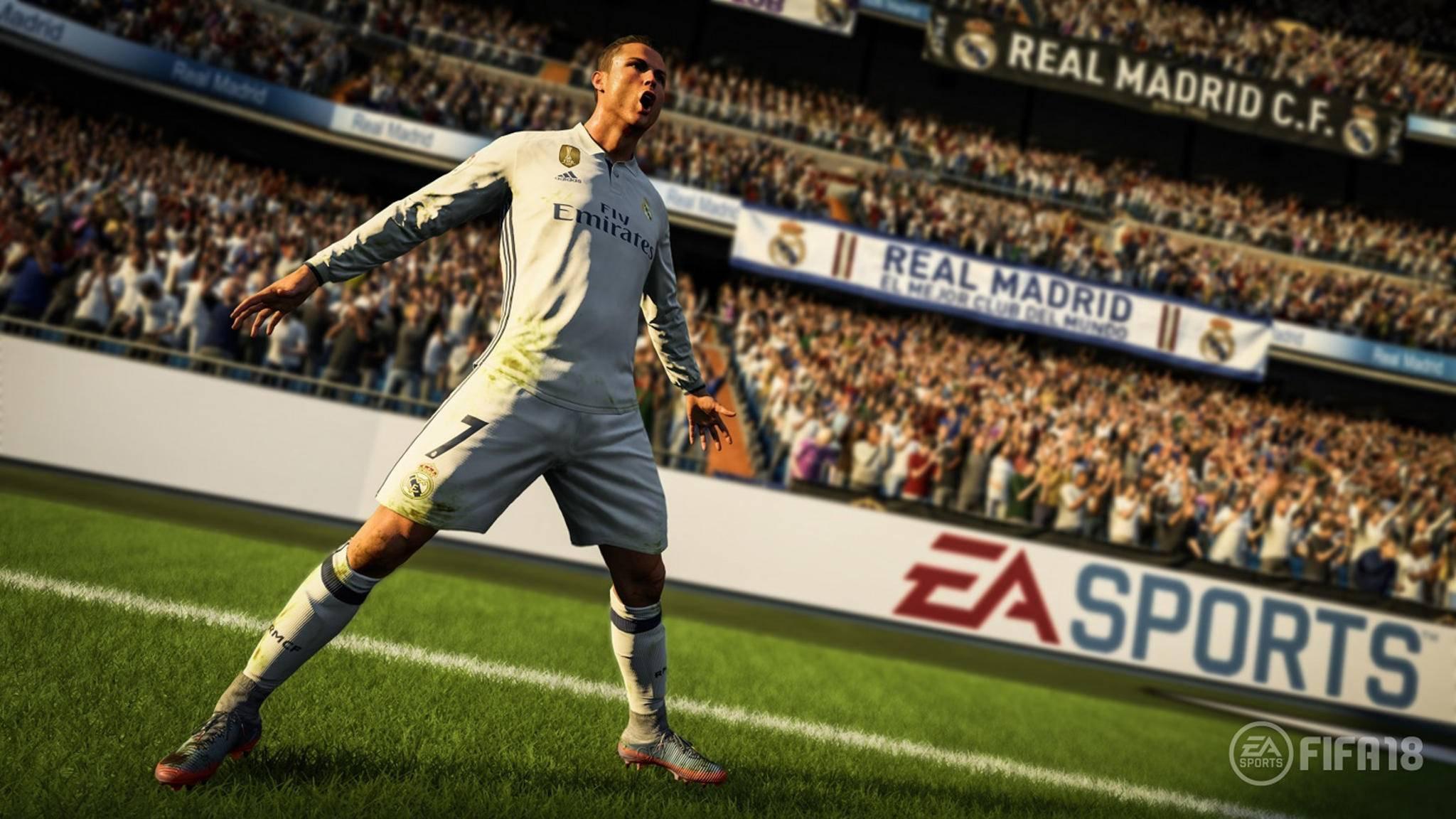 """FIFA 18"": Real-Megastar Ronaldo ziert das Cover."