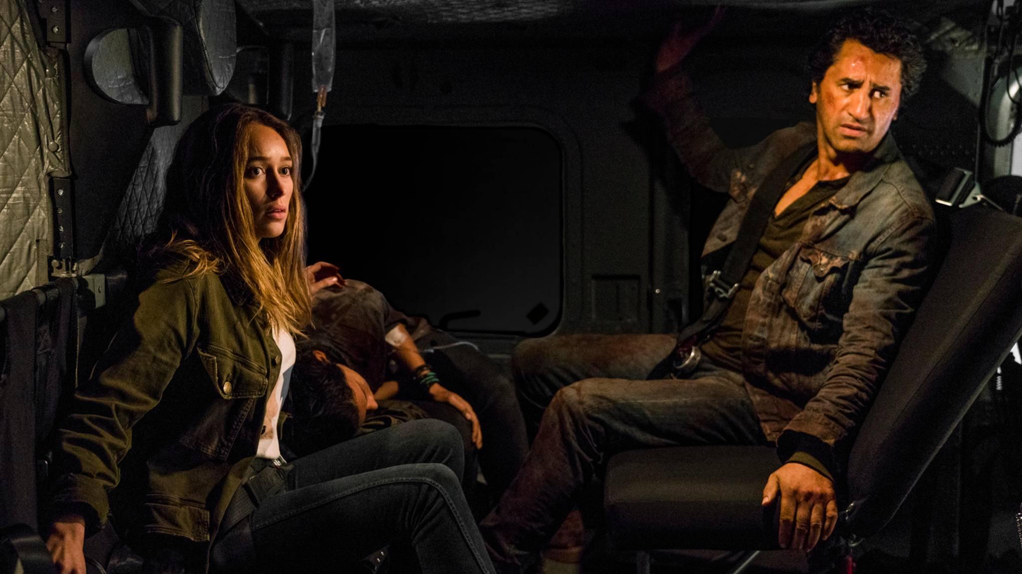 """Einer der Hauptcharaktere stirbt in Staffel 3 von """"Fear the Walking Dead""""."""