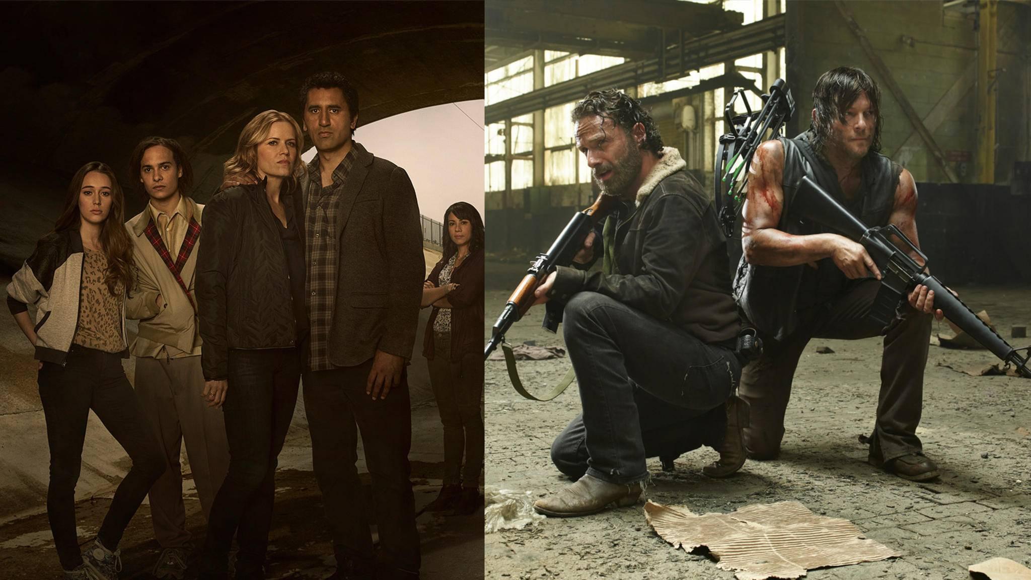 """Ein Crossover zwischen """"The Walking Dead"""" und """"Fear the Walking Dead"""" wird es wohl nie geben."""