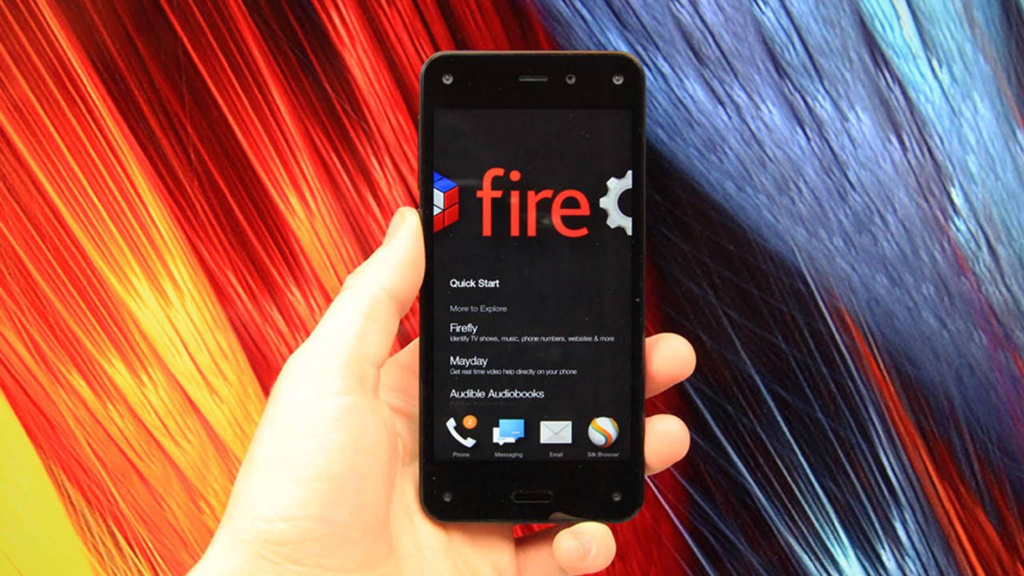 Amazon soll an einem neuen Android-Smartphone arbeiten.