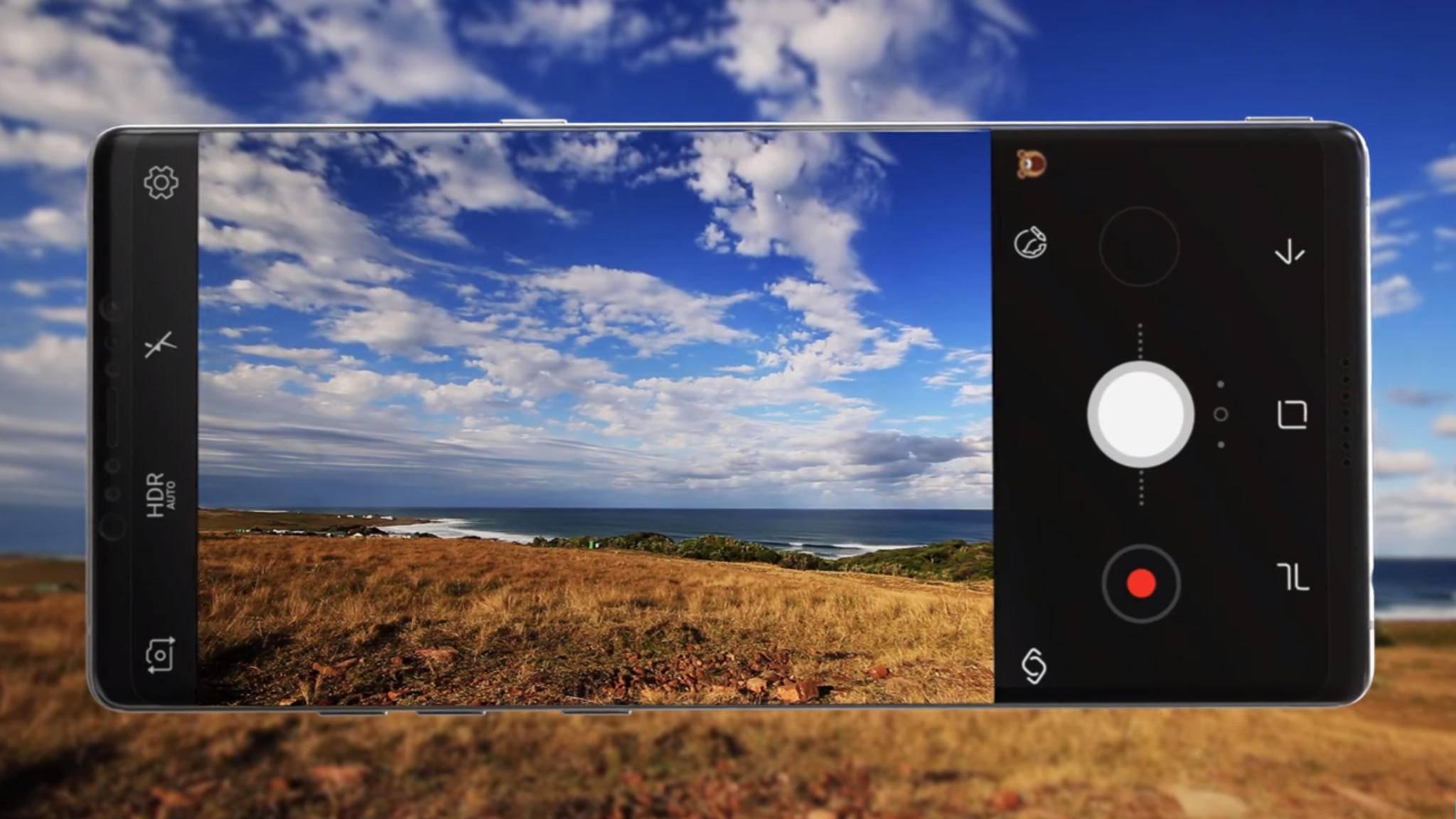 Vom Galaxy Note 8 könnte es zwei Speichervarianten geben.