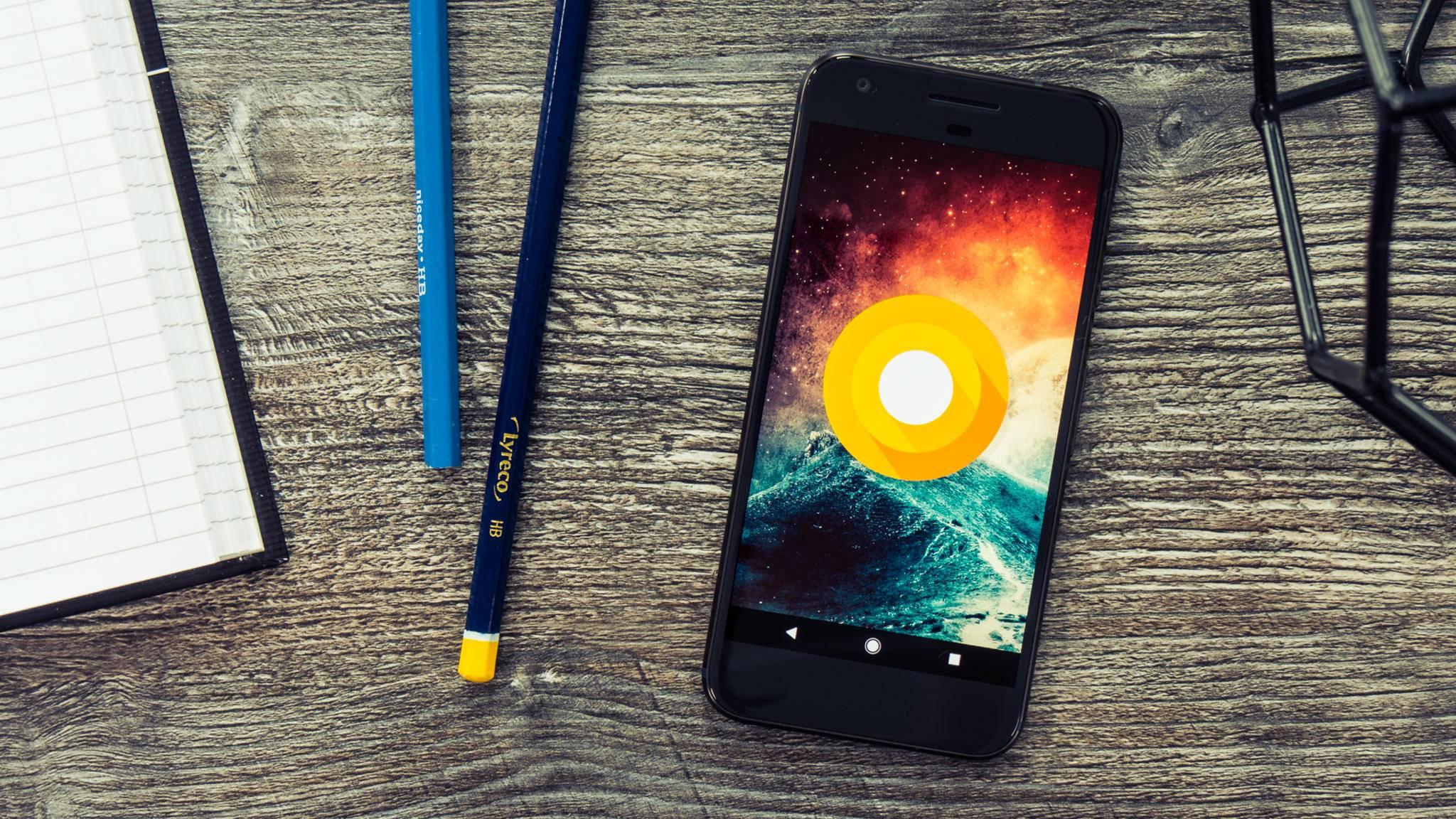 Android 8.1 zeigt die WLAN-Geschwindigkeit schon vor dem Verbinden