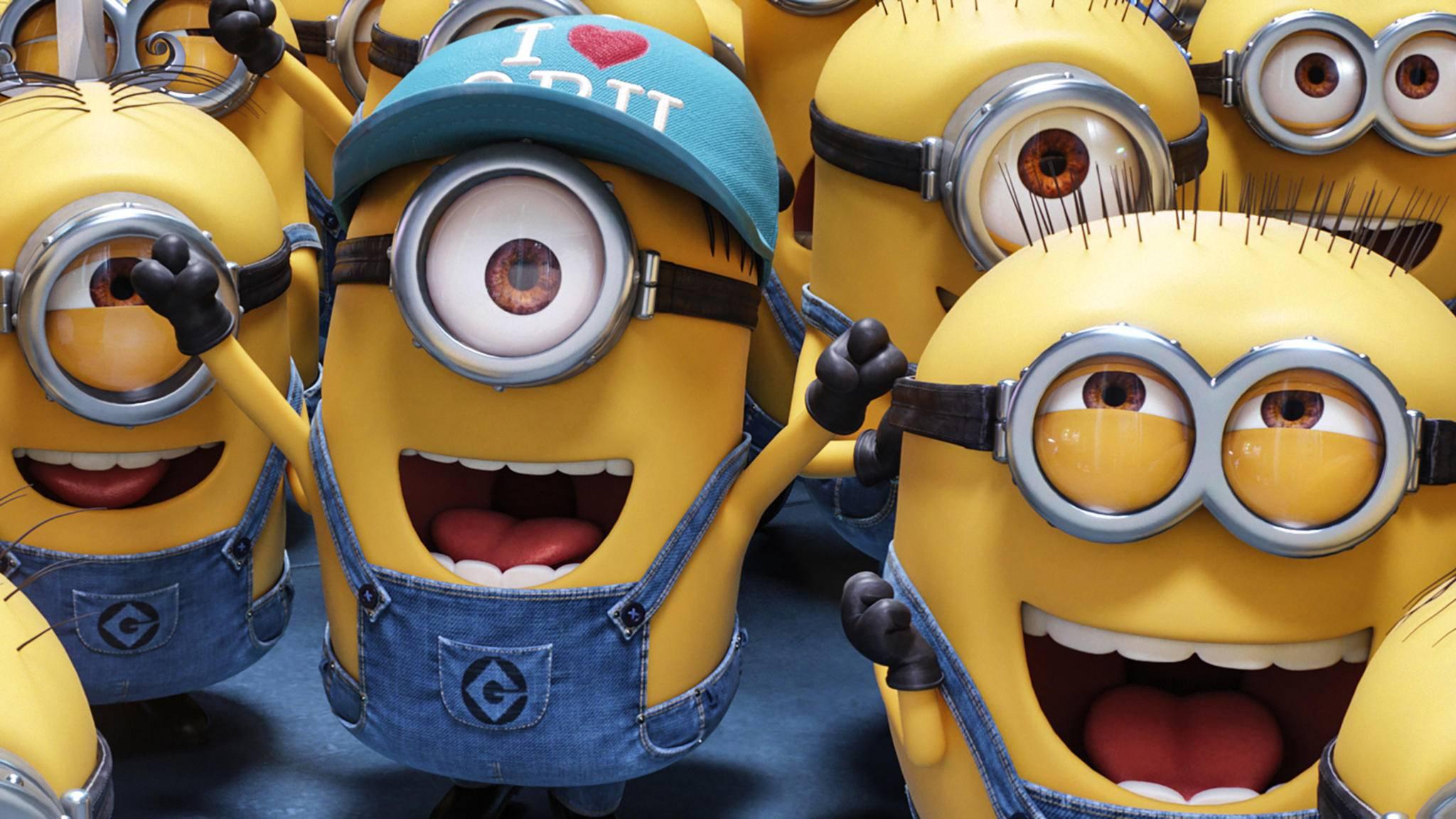 """Auf welche verrückten Ideen die kleinen gelben Helferlein wohl in """"Minions 2"""" kommen werden?"""