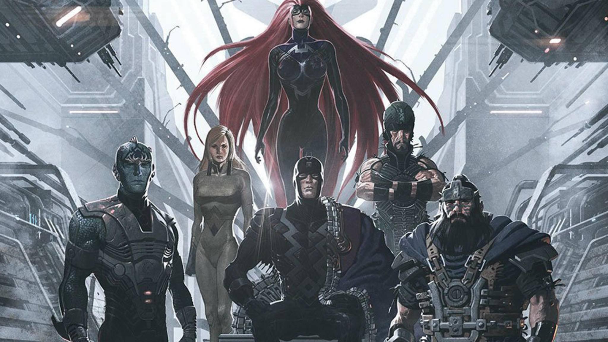 """Wer die Inhumans schon immer einmal """"live"""" und in Action sehen wollte, bekommt nun dank eines geleakten Trailers die Gelegenheit dazu."""