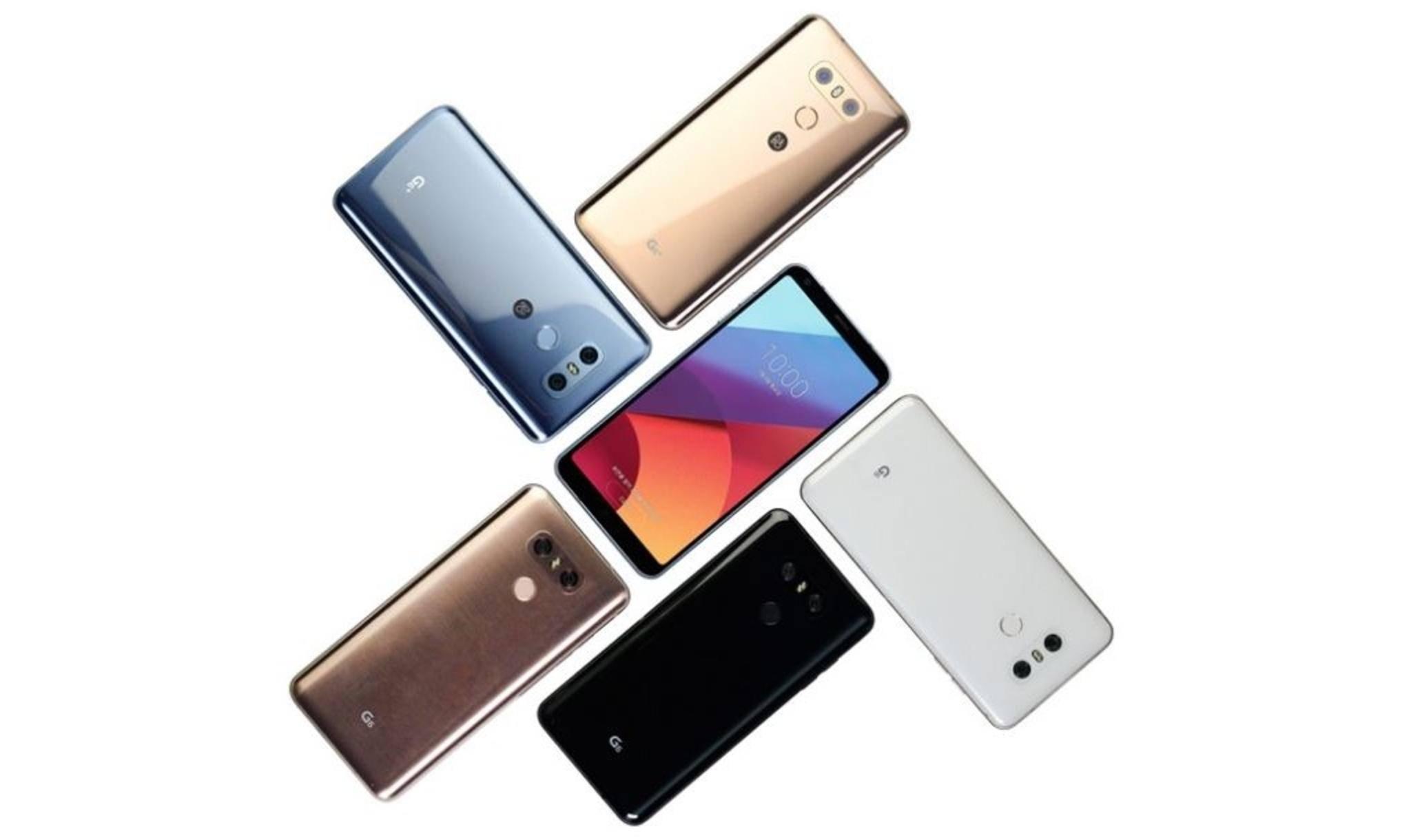 Das LG G6 bekommt eine Version mit kleinerem und eine mit größerem Speicher an die Seite gestellt.