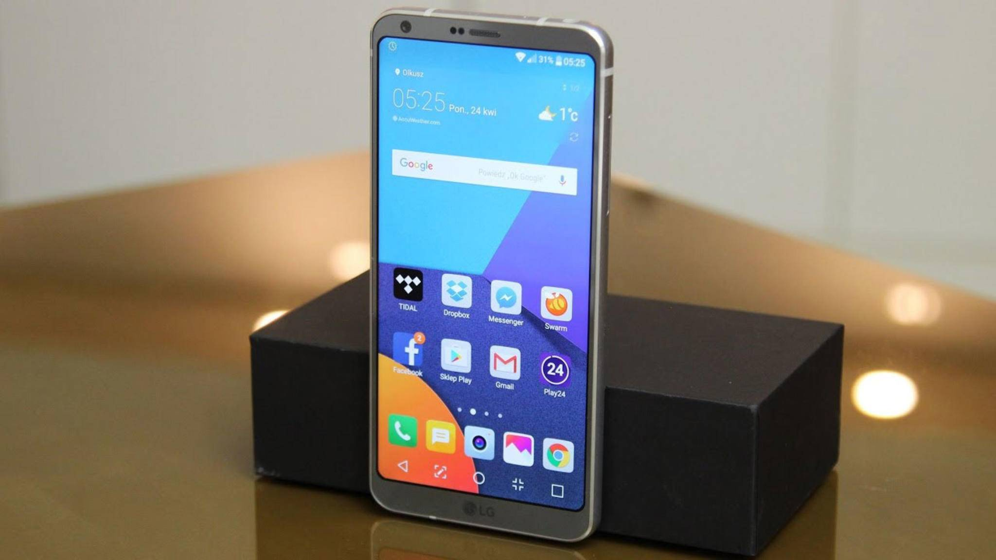 Könnte bald Gesellschaft in Form eines Pro- und Plus-Modells erhalten: das LG G6.