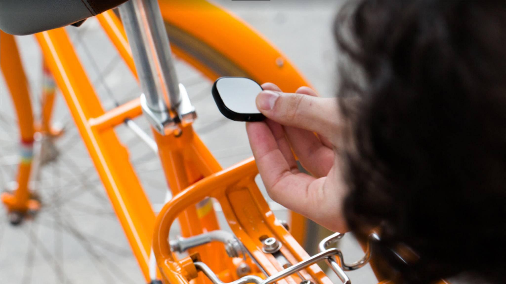 Auch Dein Fahrrad kann der GPS-Tracker Magpie sichern.
