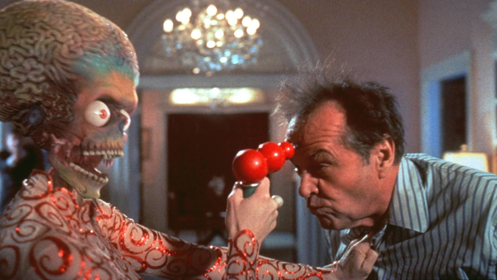 """Nicht nur in """"Mars Attacks!"""" glänzen die Aliens mit besonders schrägen Auftritten."""