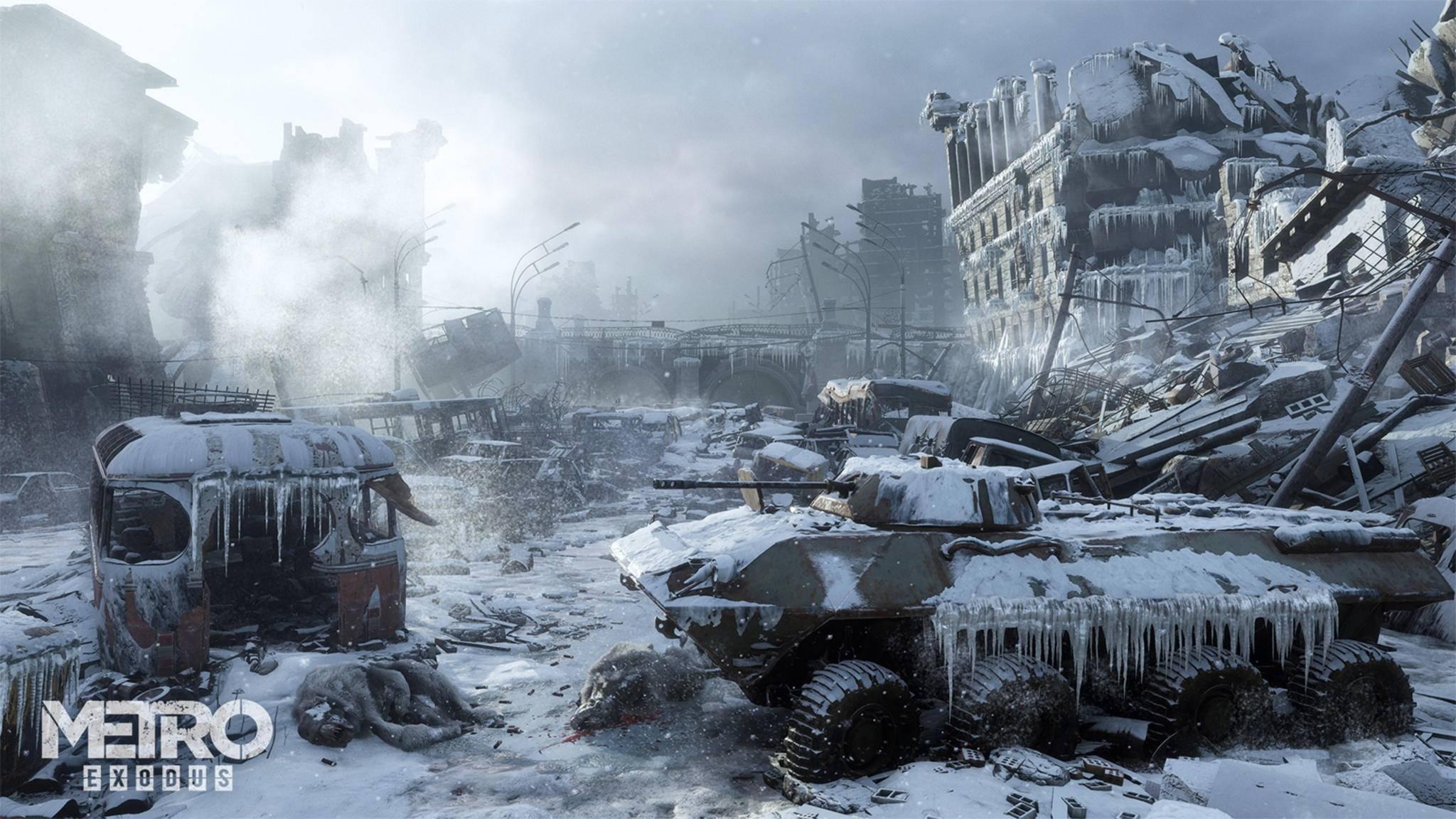 Metro Exodus: Klassisches Gameplay ohne Open World