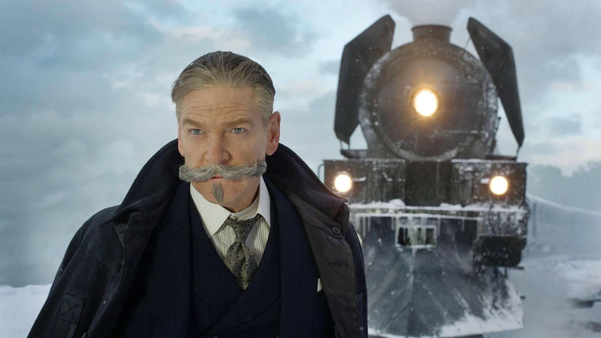 Von der Schneelandschaft in die Sonne: Hercule Poirot verschlägt es bald nach Ägypten.