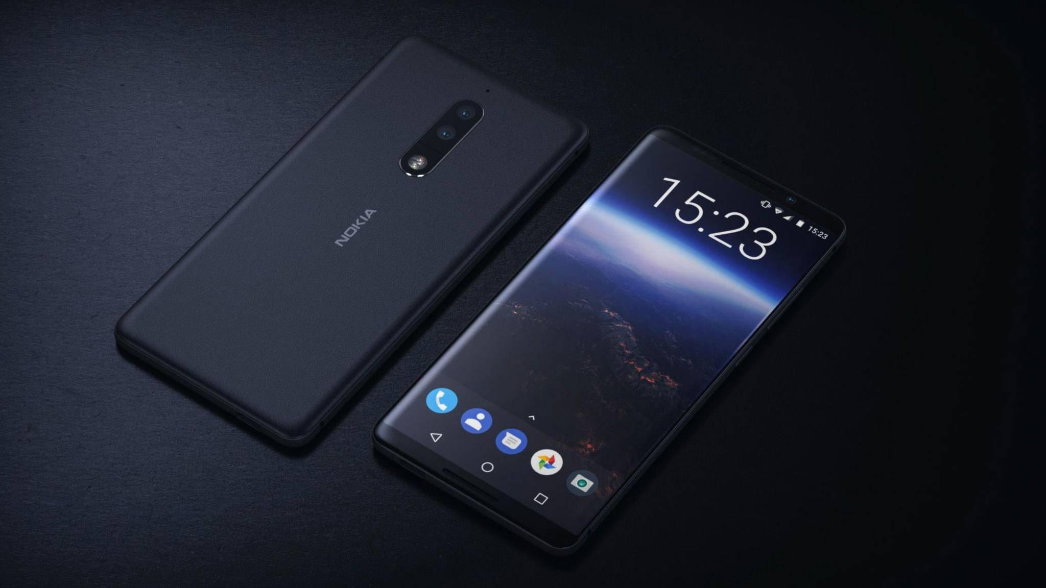 Das Nokia 8 wird bald Release feiern können.