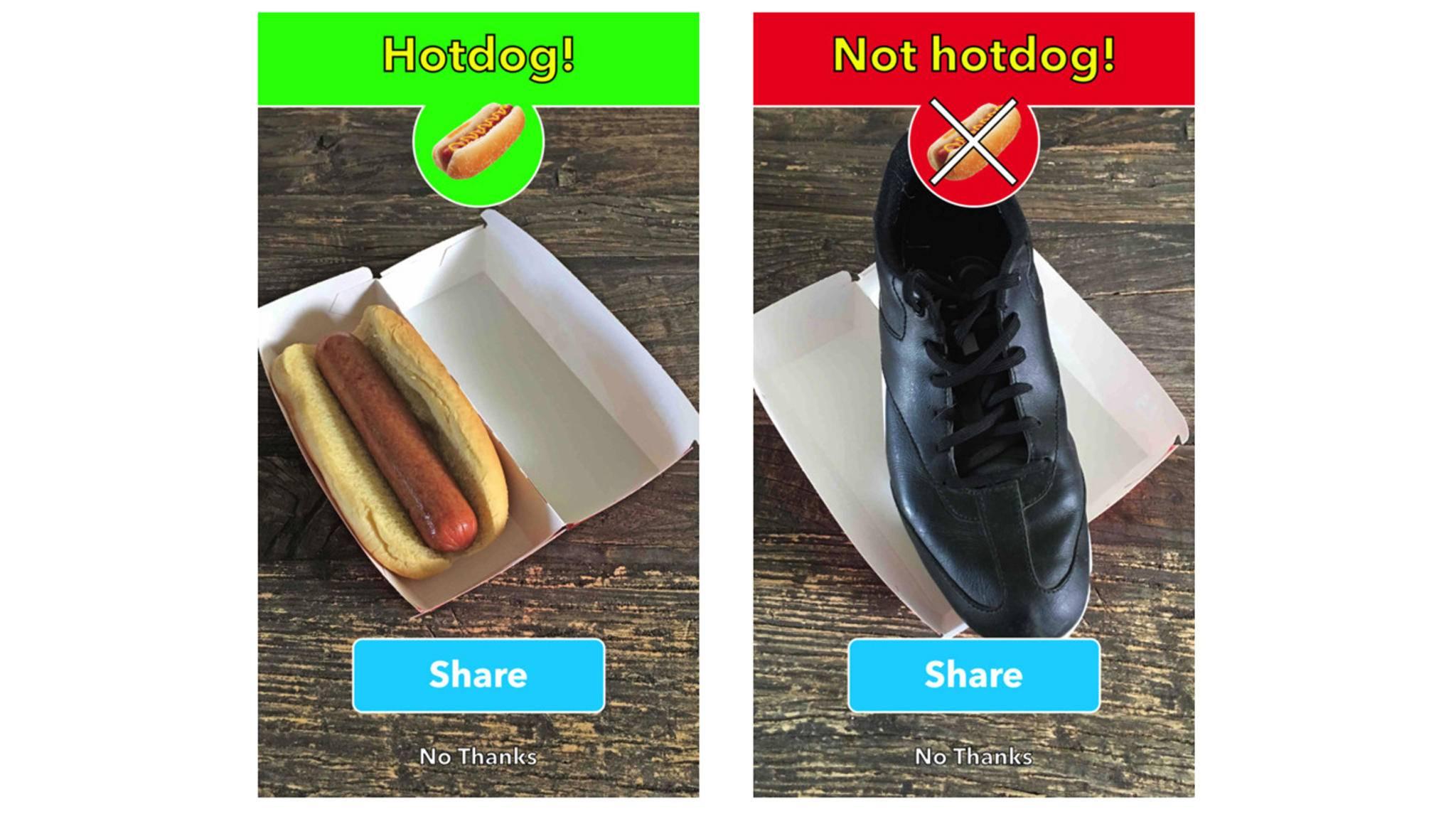 Ein Hotdog oder kein Hotdog, das ist hier die Frage ...