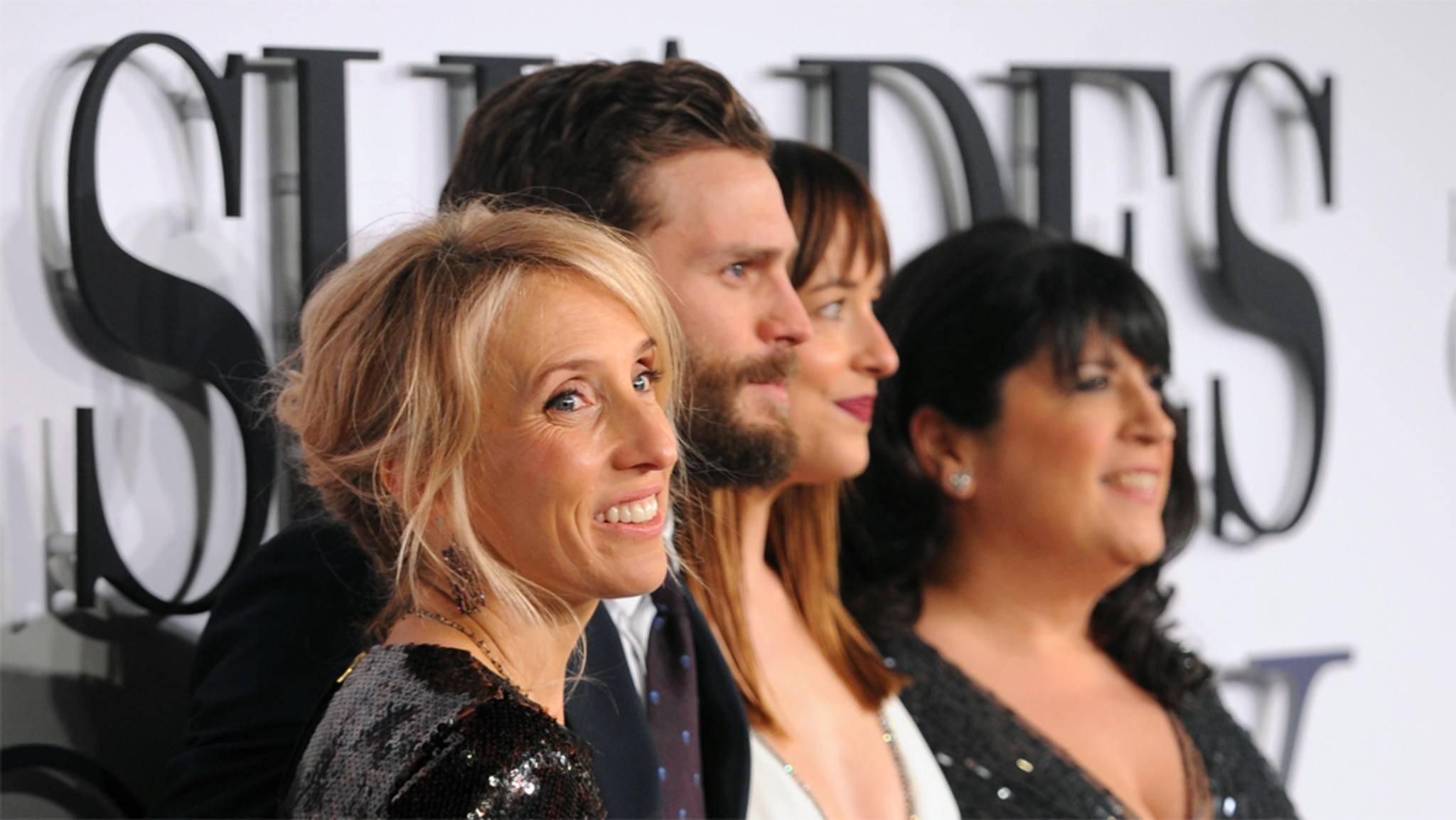 """Sam Taylor-Johnson hatte am Set von """"Fifty Shades of Grey"""" nicht viel zu lachen."""