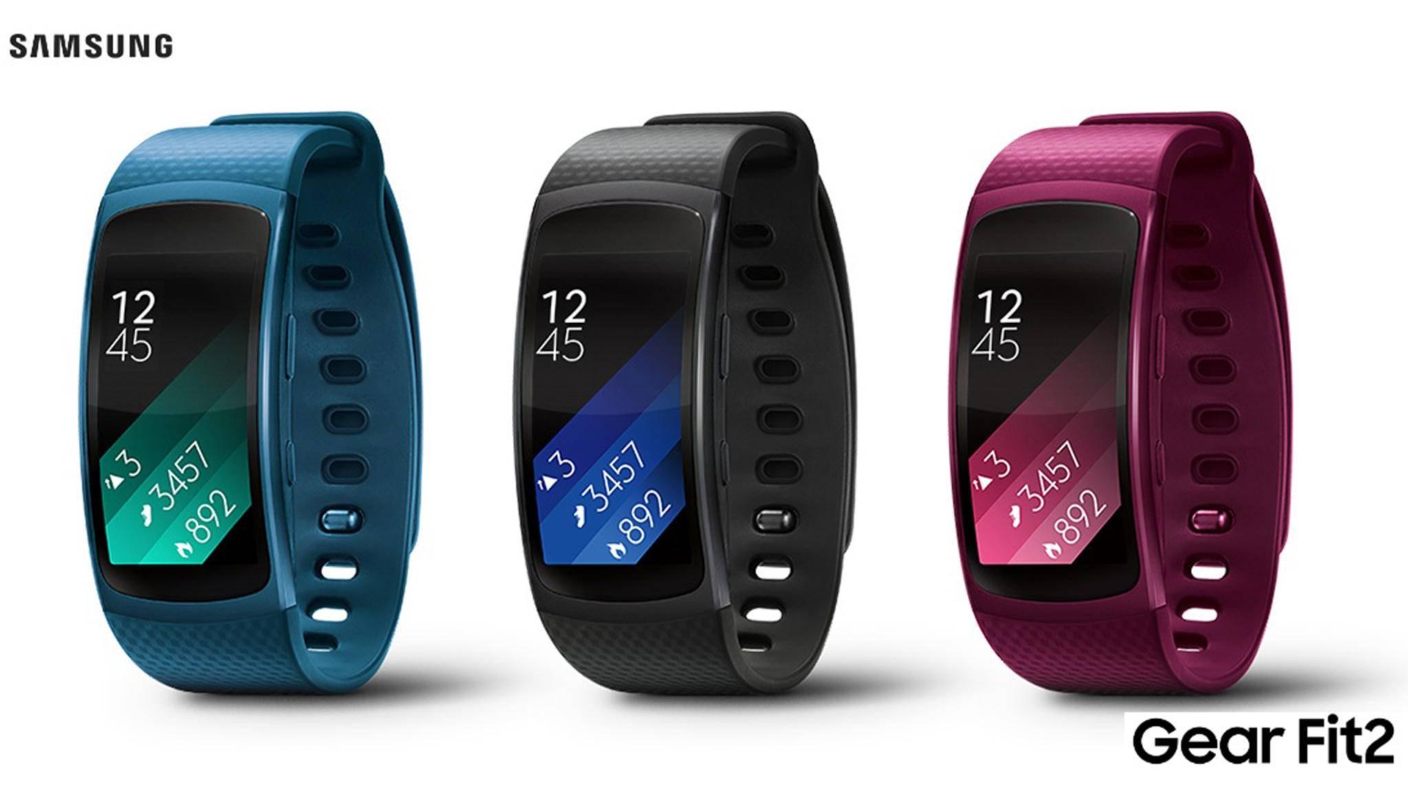 Mit dem neuen Software-Update wird Samsungs Gear Fit 2 noch smarter.