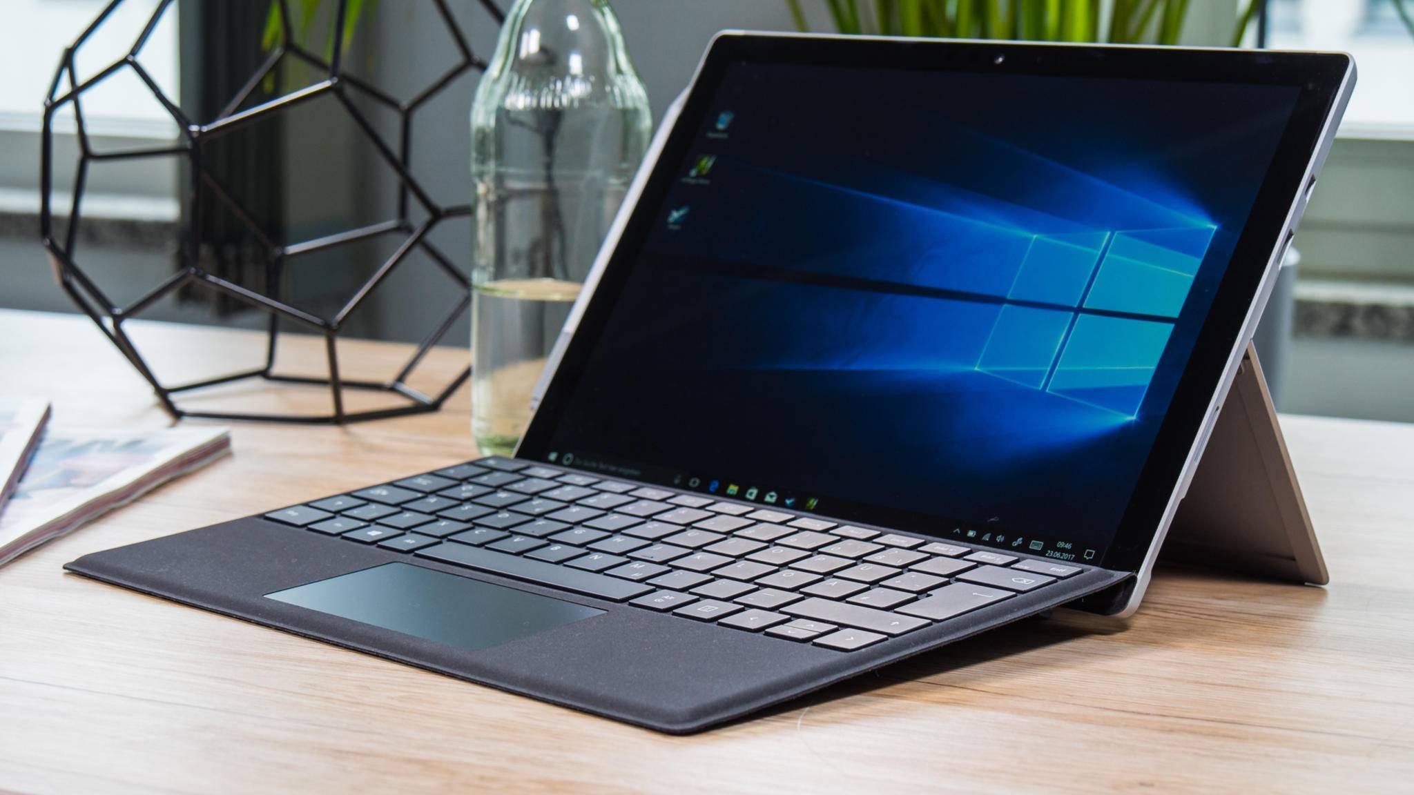 Keine Frage: Das Surface Pro (2017) ist der bessere Laptop als das iPad Pro 12.9.