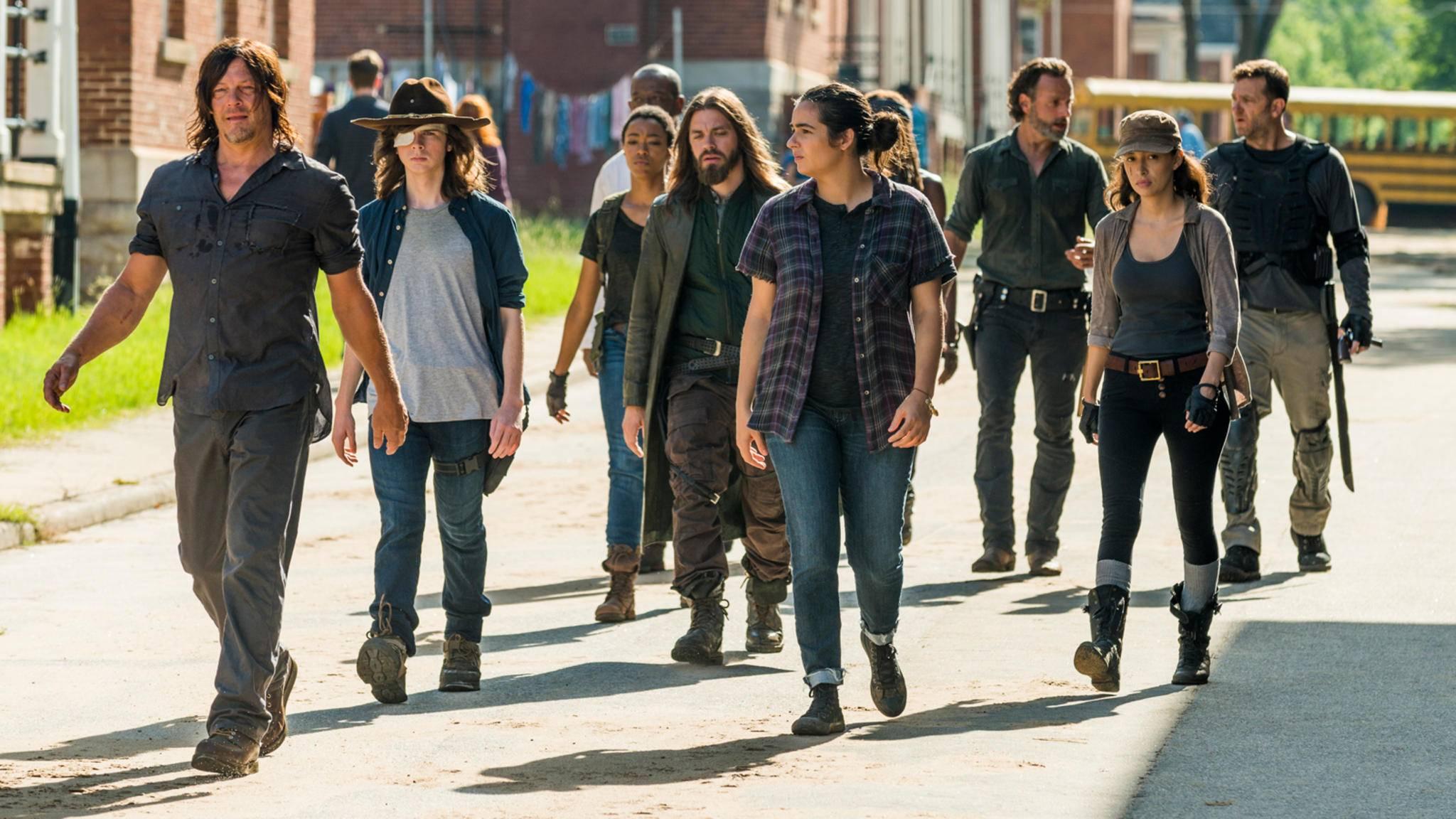 """In dieser Zusammensetzung werden wir die Helden aus """"The Walking Dead"""" in Zukunft nicht mehr sehen dürfen."""