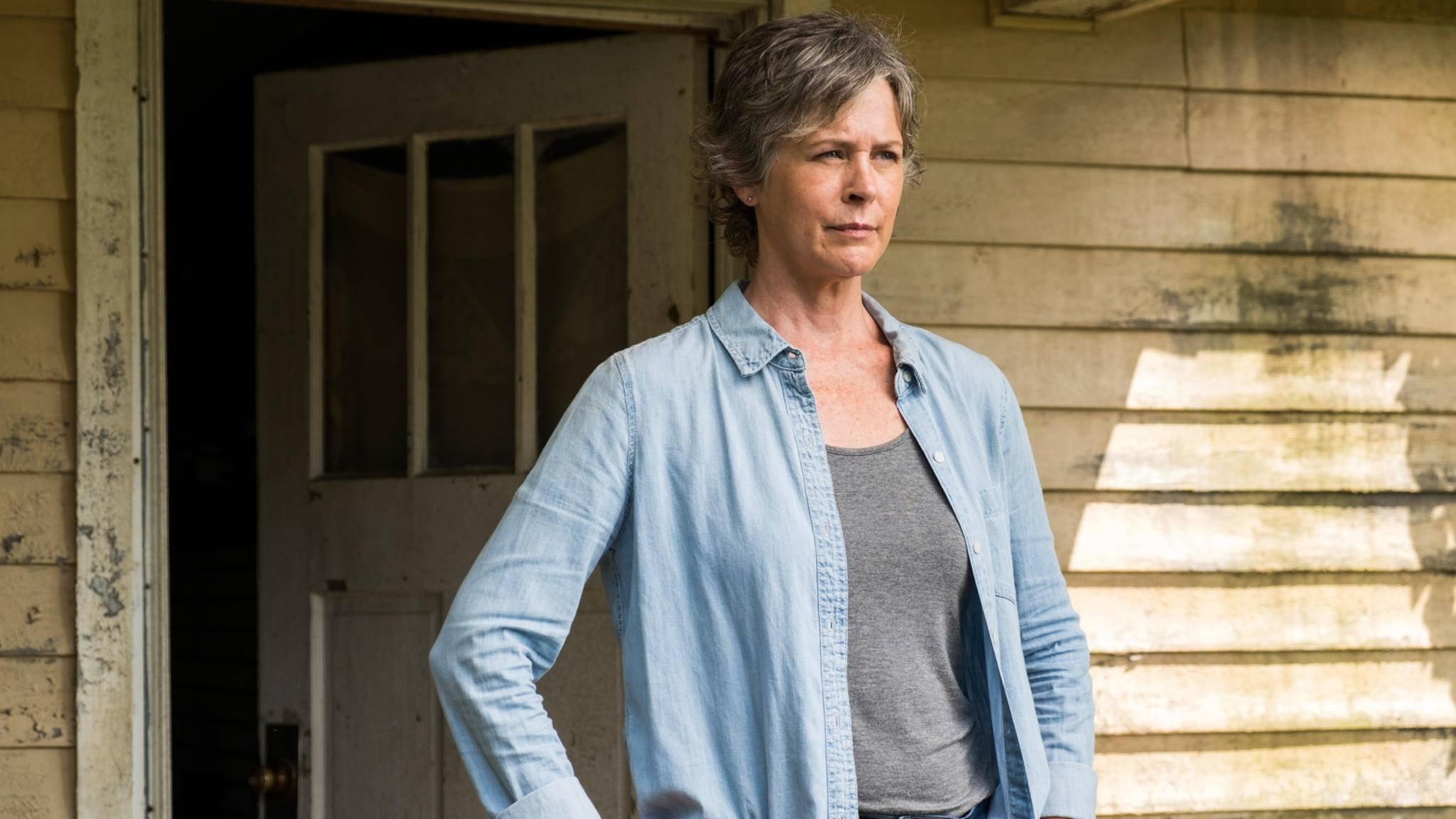 """Inzwischen kann Carol in """"The Walking Dead"""" sehr gut auf sich selbst aufpassen."""