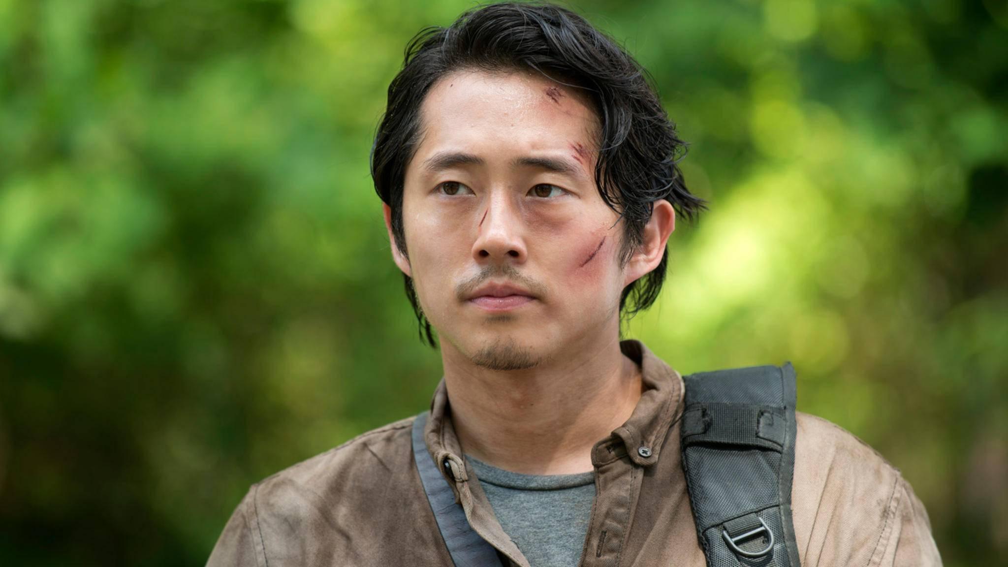 """Glenn Rhee aus """"The Walking Dead"""" gehört definitiv zu den Serienfiguren, die in den Augen der Fans viel zu früh getötet wurden."""
