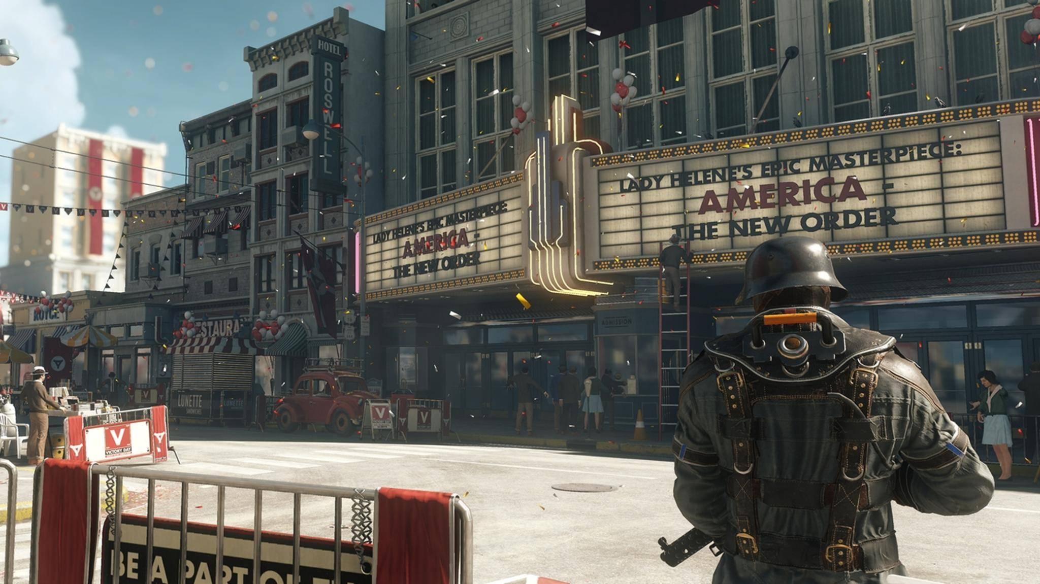 """""""Wolfenstein II"""" war der Star der Bethesda-Pressekonferenz auf der E3 2017."""